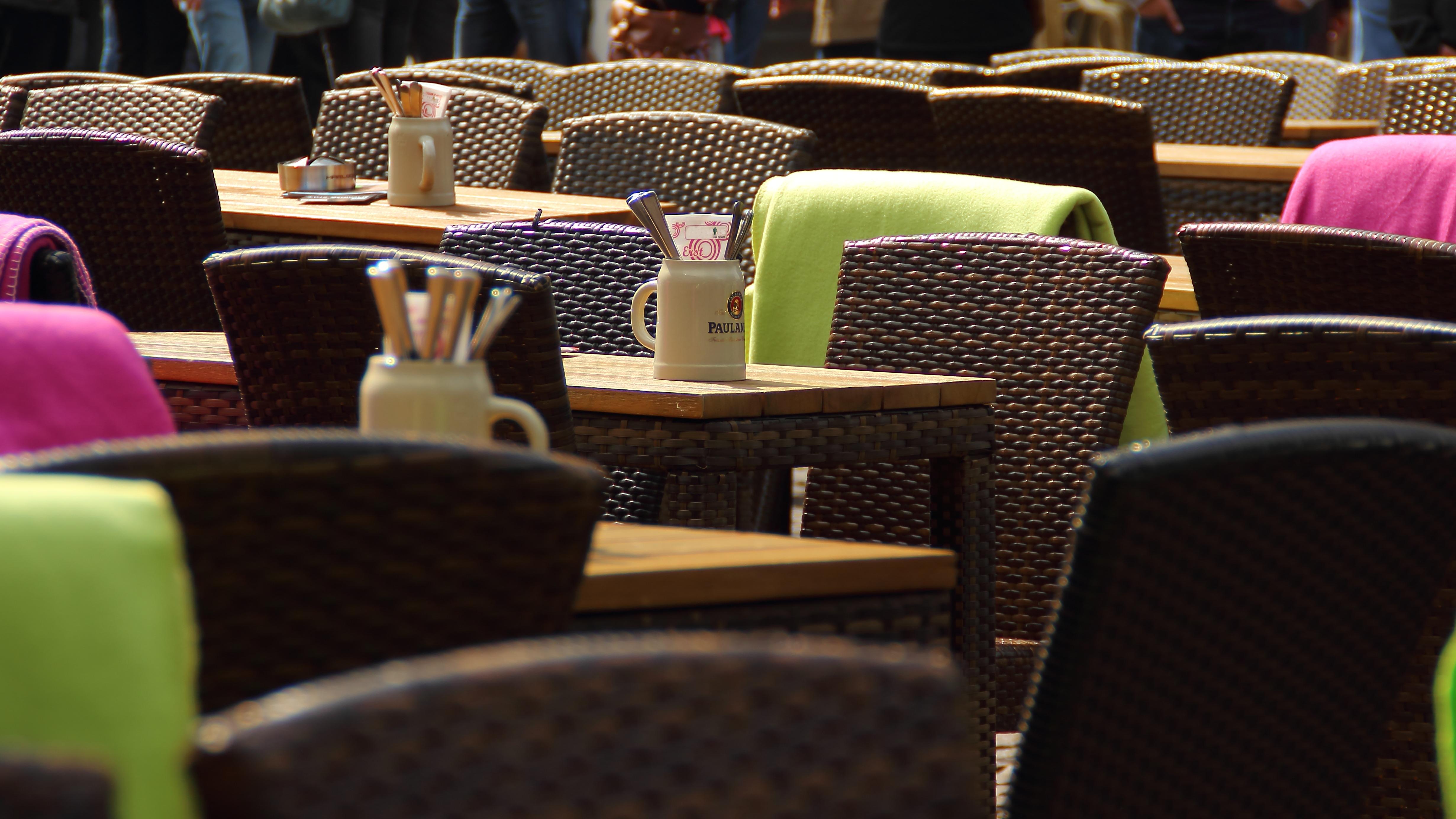 Images Gratuites : café, chaise, restaurant, décoration, printemps ...