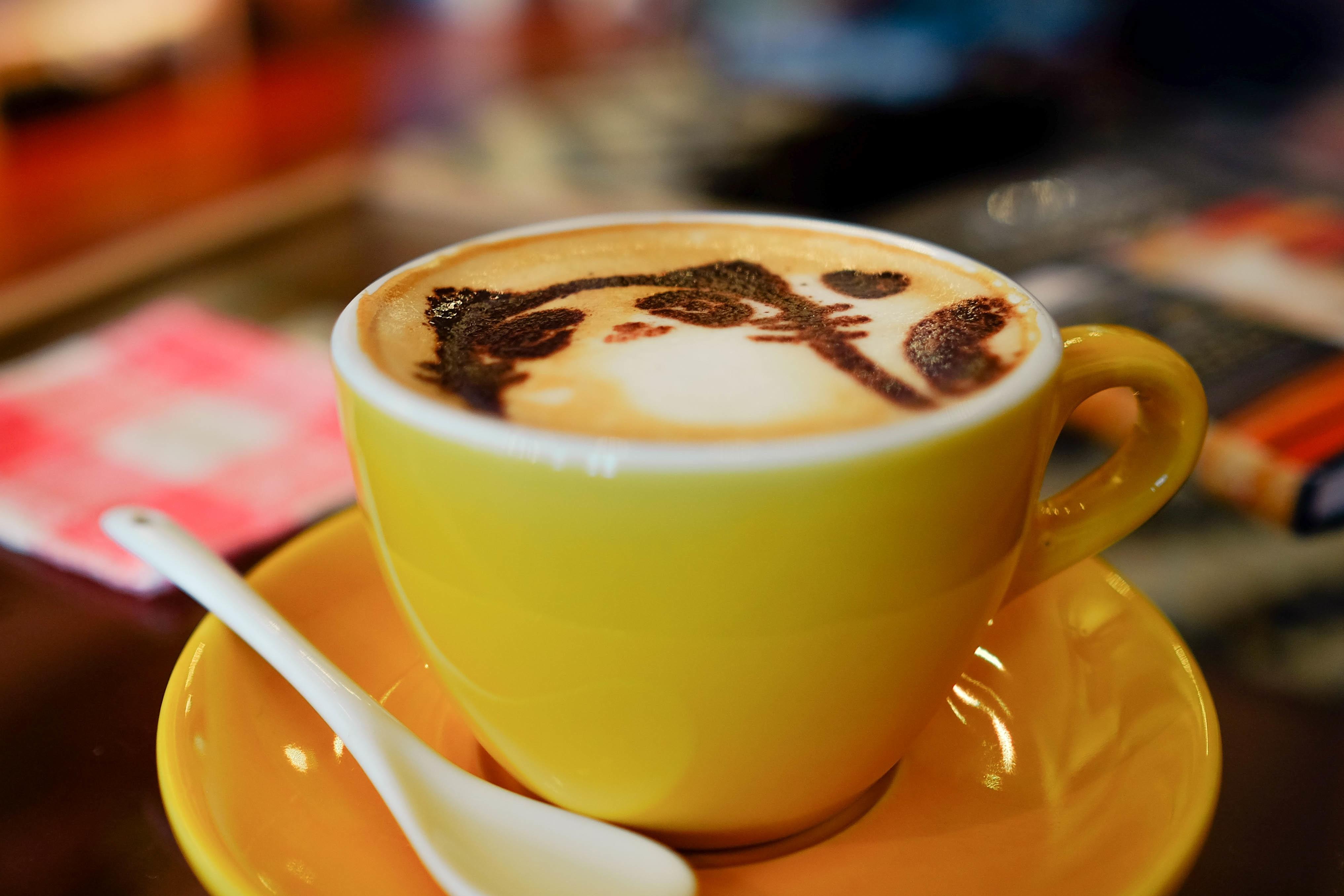 Coffee Cup Latte Food Kitten Drink Espresso Mug Caffeine Flavor Caf Au Lait Caff Macchiato Hong