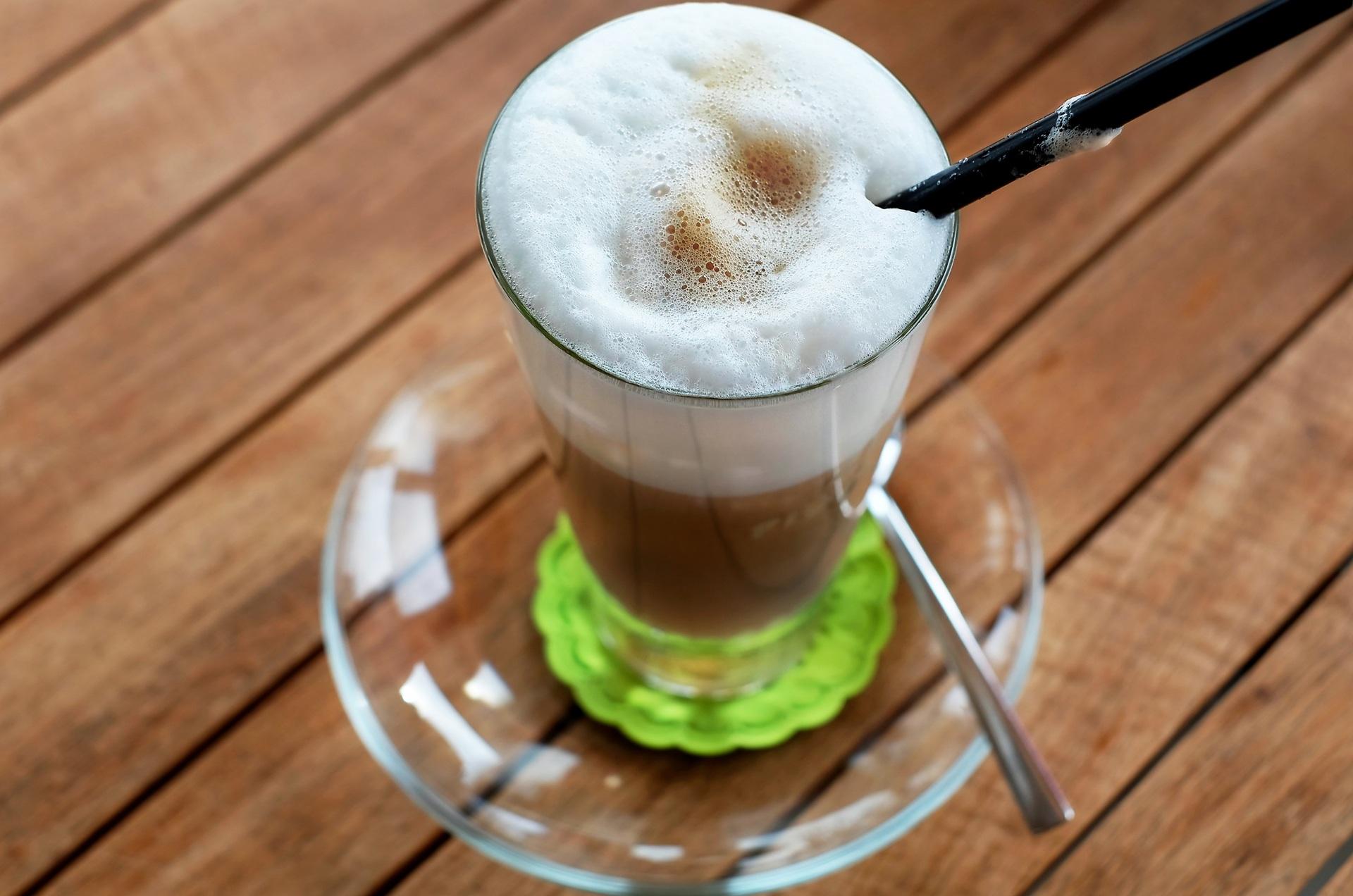 как пишется кофе латте