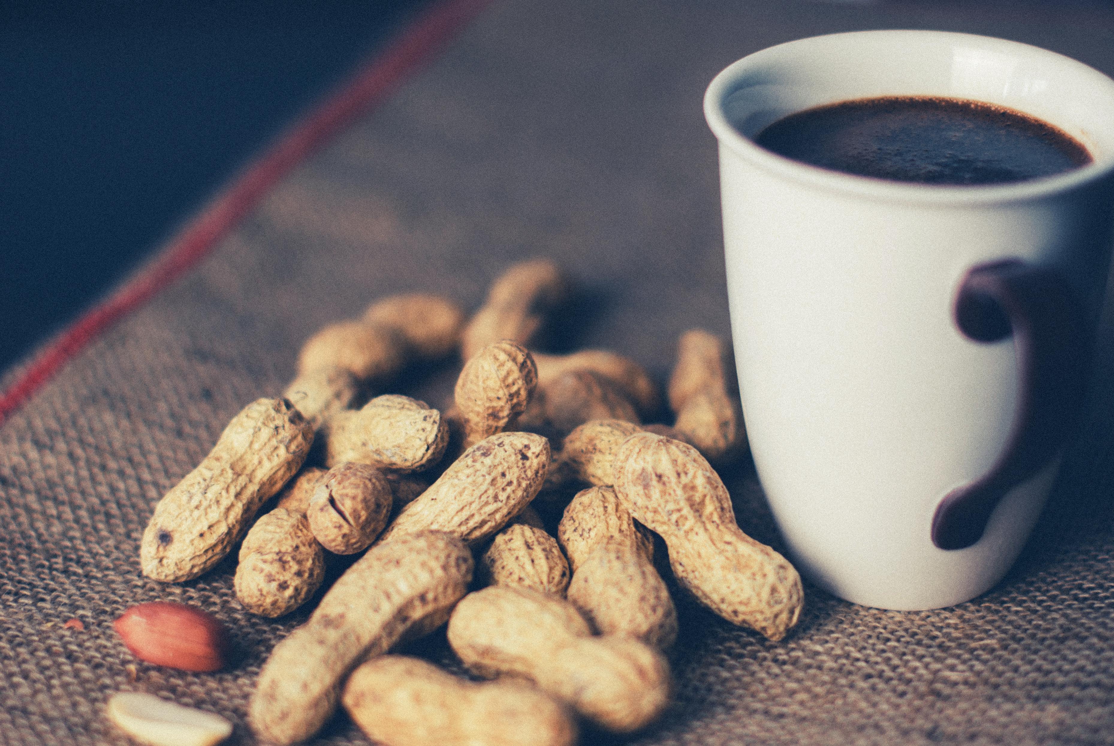кофе с орехами картинка смех
