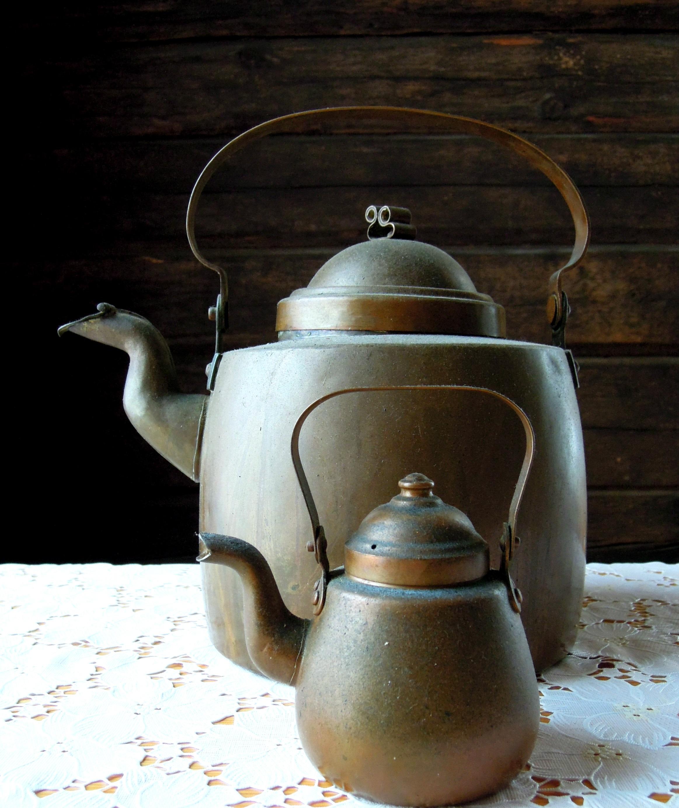 Fotos gratis : café, Retro, antiguo, tetera, casa, maceta, cerámico ...