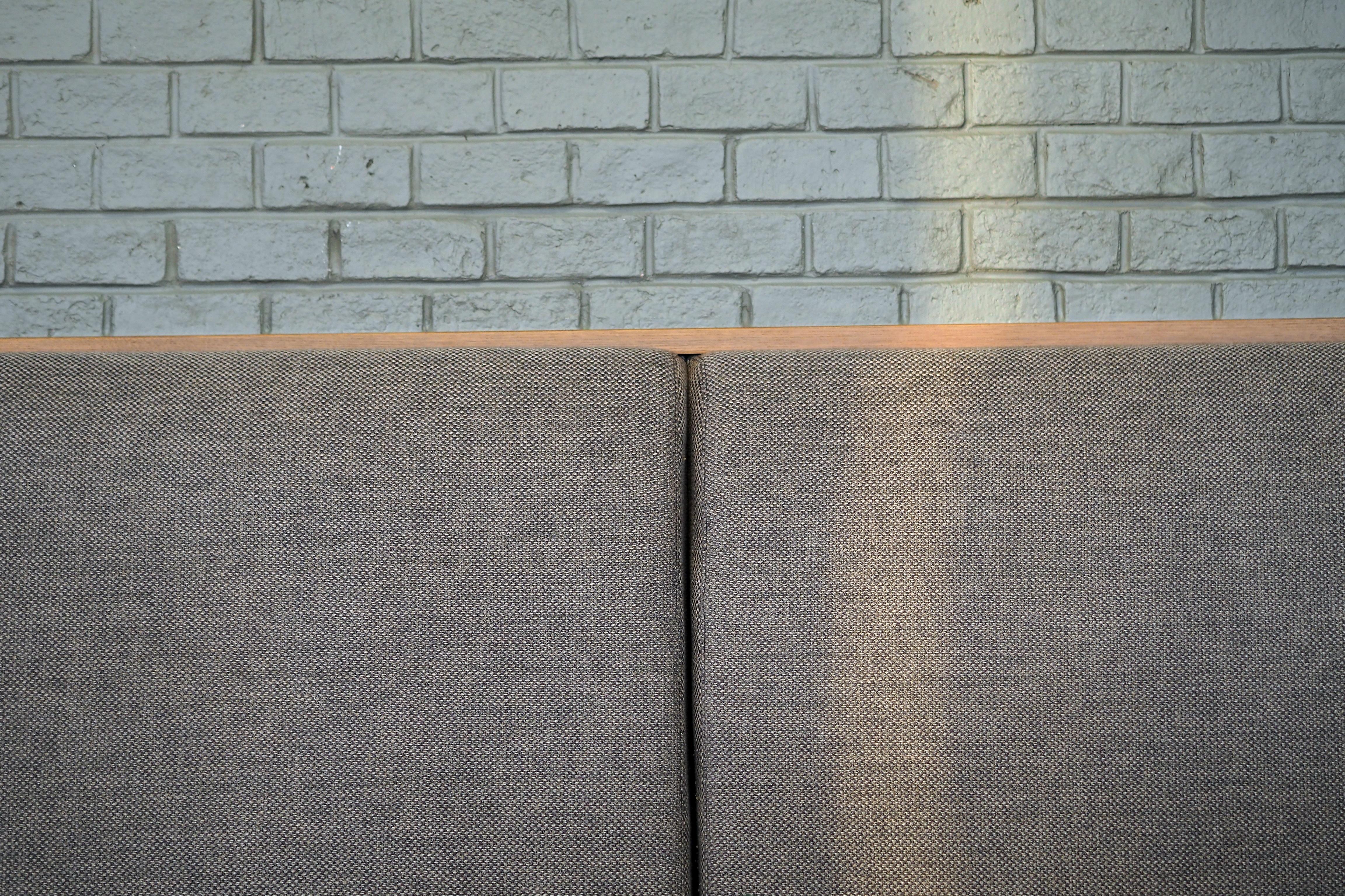 Coffee Shop Light Chair Floor Wall Tile Brick Material Fabric Interior Design Cushion Seats Flooring Window