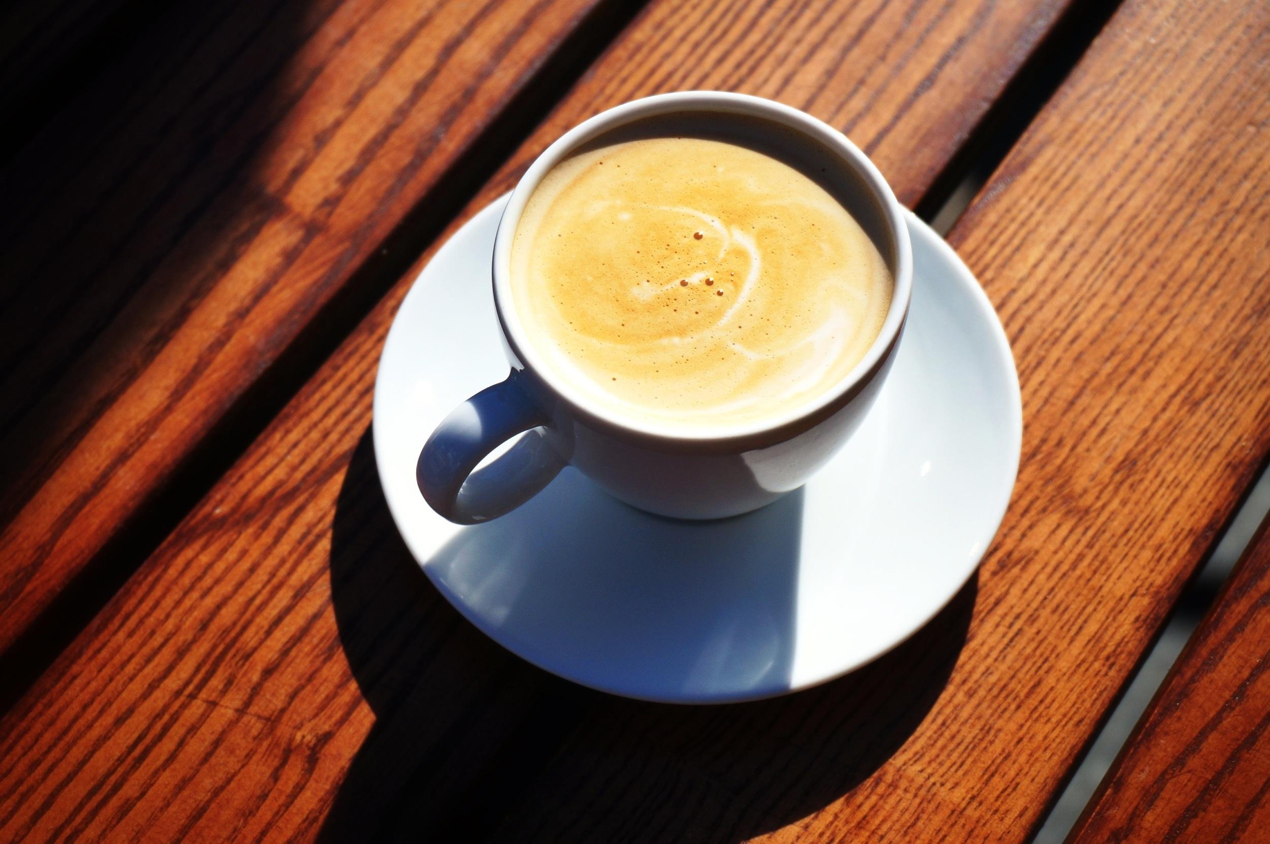 Солнце и кофе фото