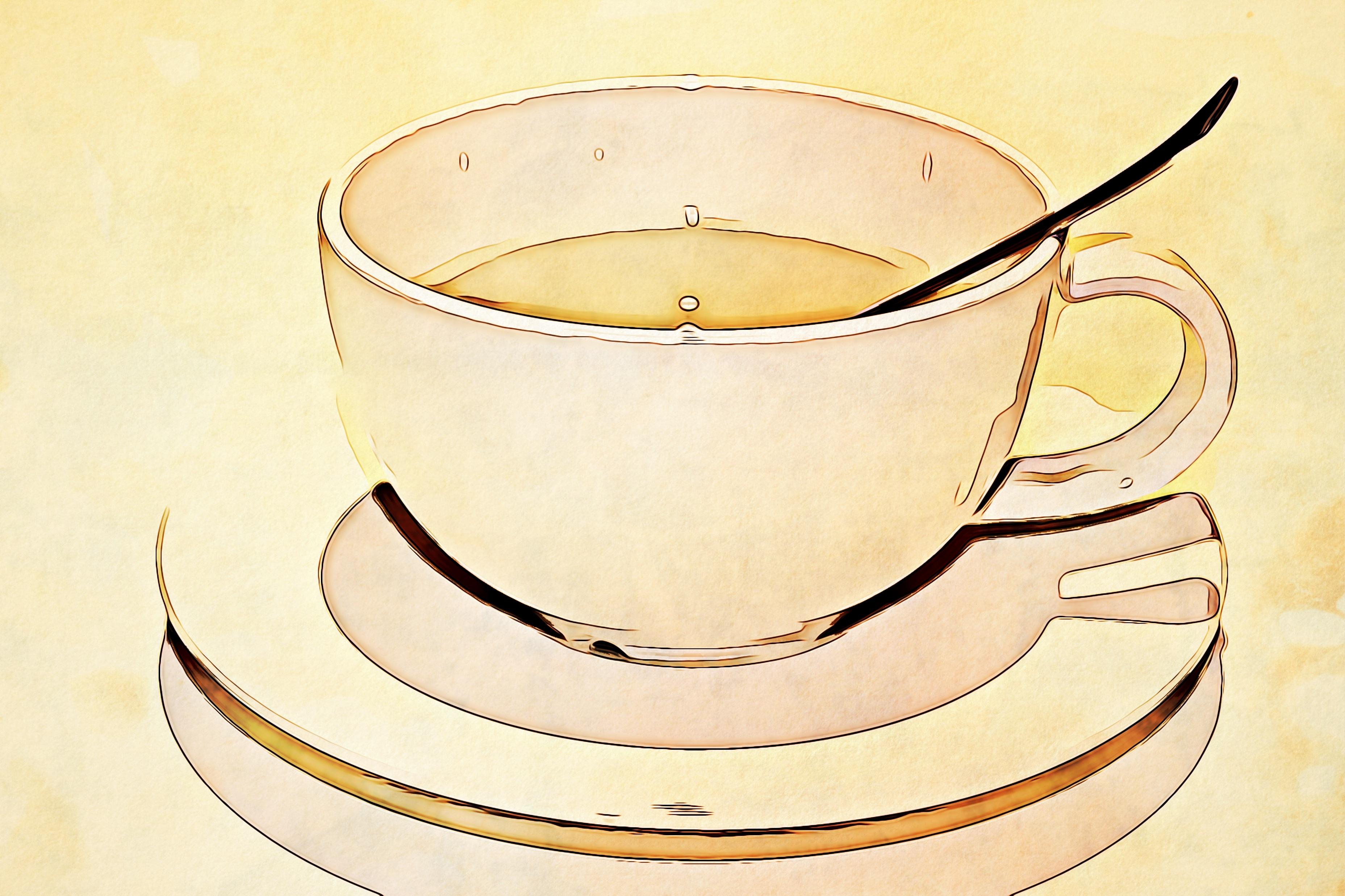 Free Images : tea, metal, drink, mug, lighting, coffee cup, spoon ...