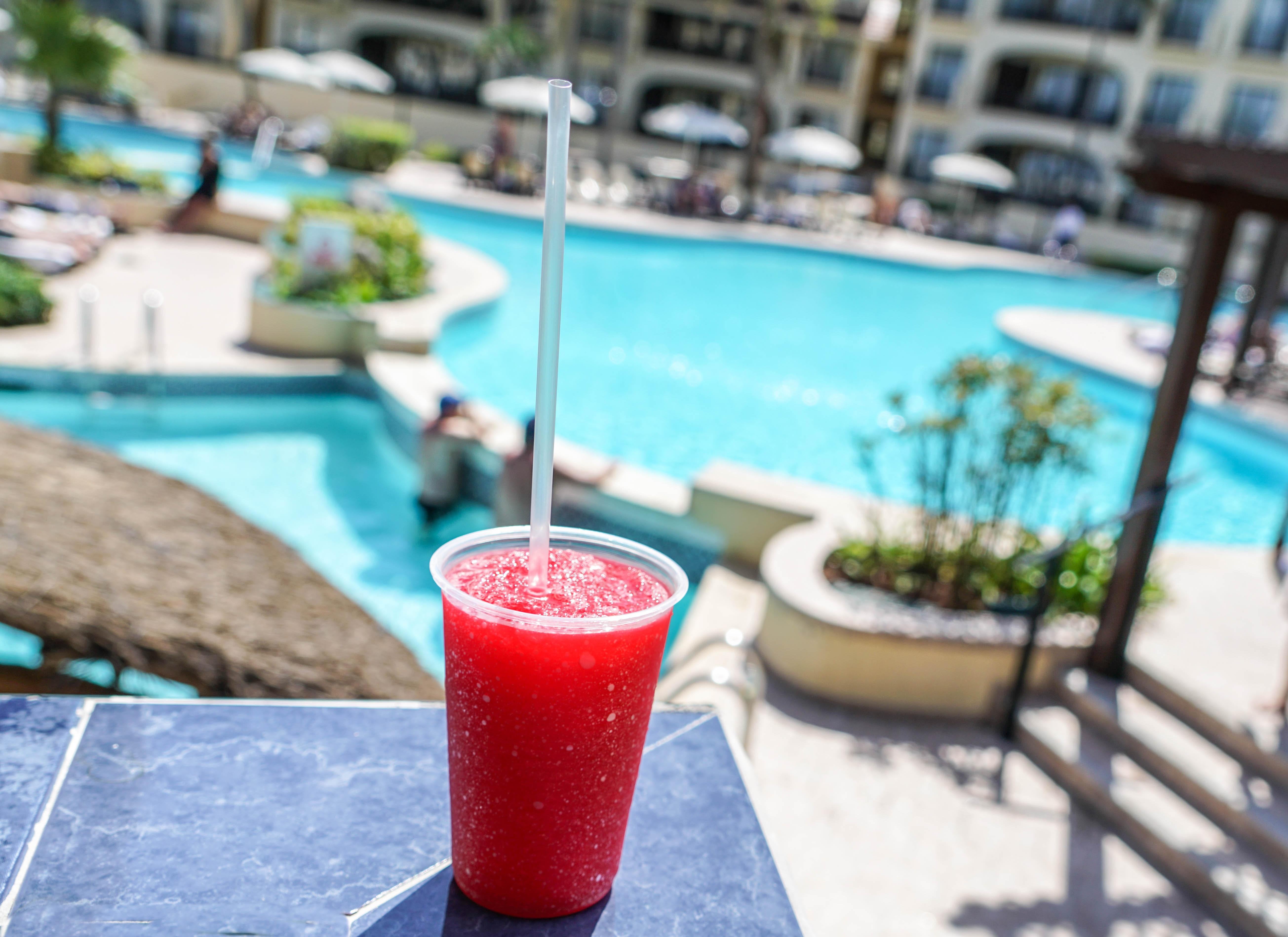cool summer meal slushy help beat heat