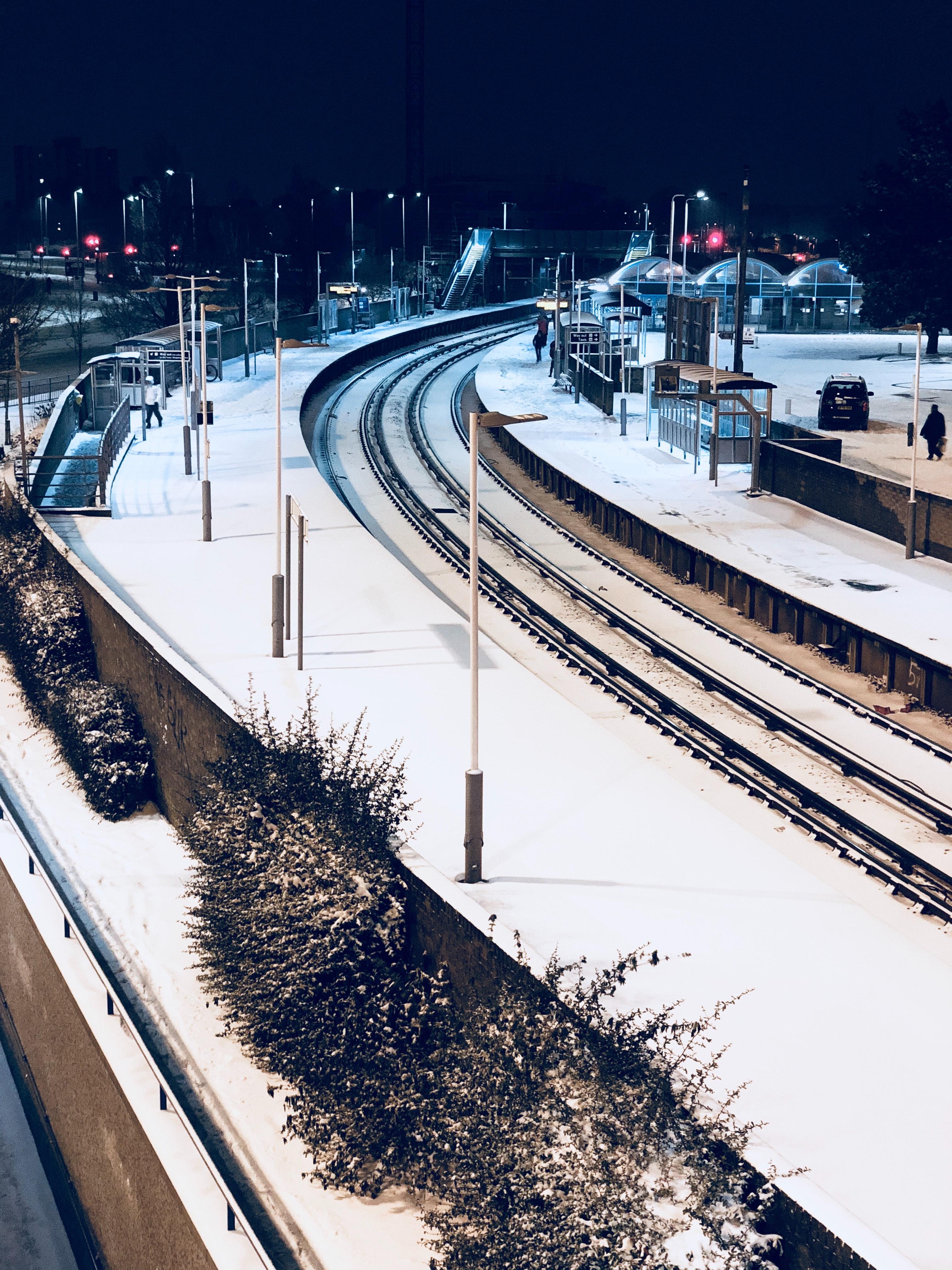 картинки станции зимой