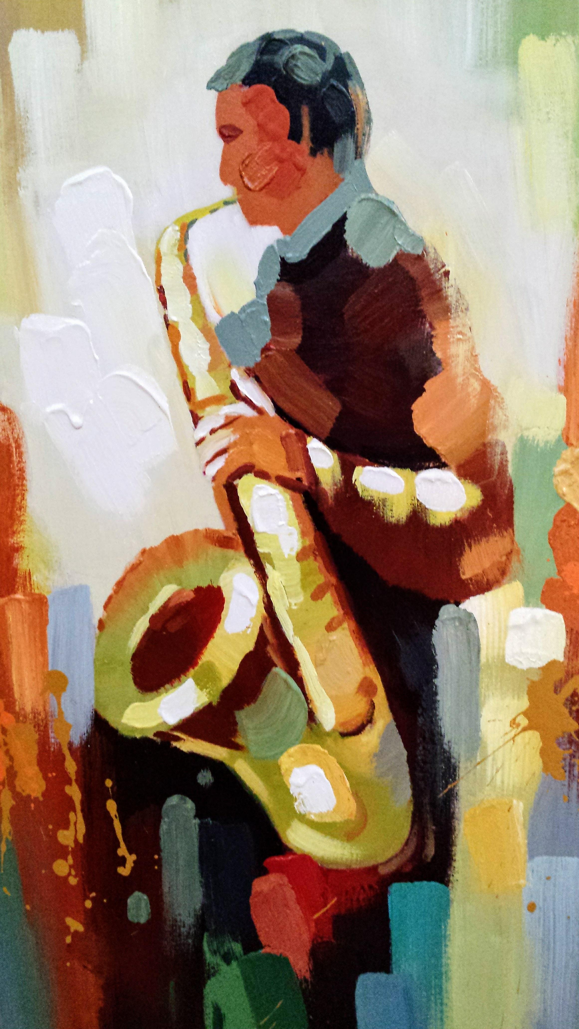 images gratuites couleur artistique artiste peindre la peinture saxophone couleurs. Black Bedroom Furniture Sets. Home Design Ideas