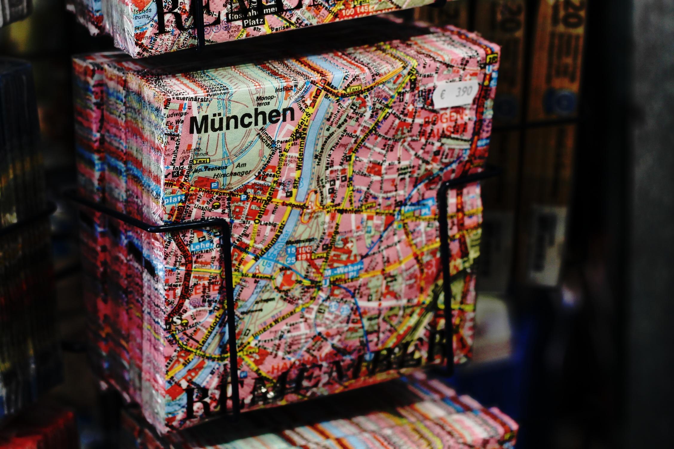 Download Map Indonesia%0A color bazaar market paper material map napkin textile art souvenir munich
