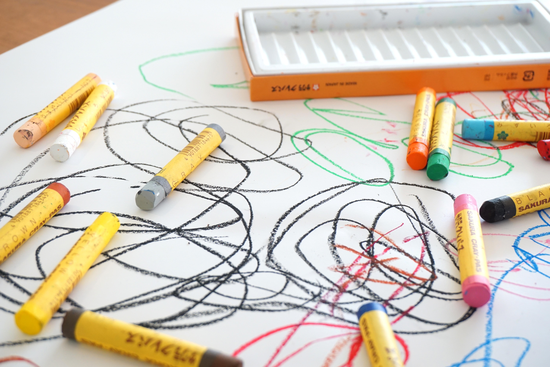 Kostenlose foto : Farbe, Graffiti, Buntstift, Kunst, Kinder ...
