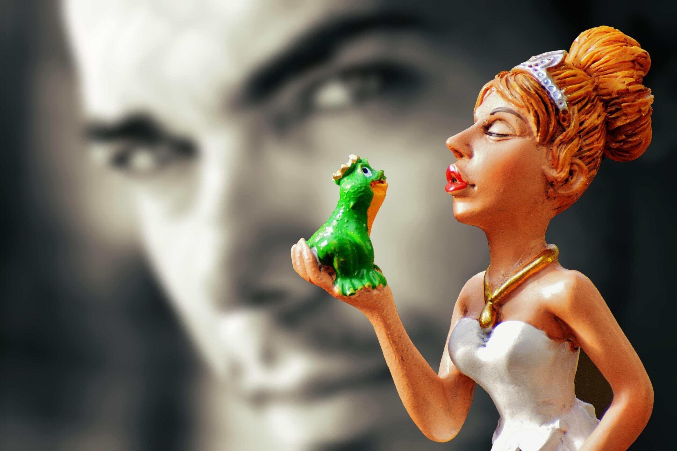 Gambar Warna Ciuman Mainan Seni Angka Arca Lucu