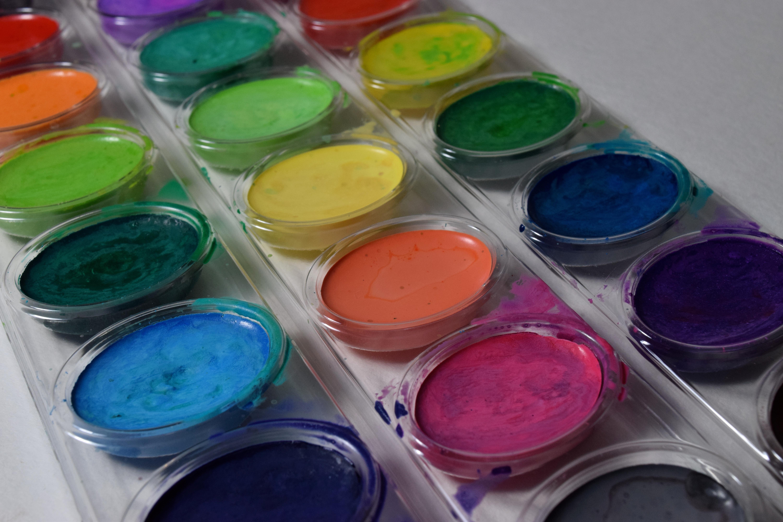 Fotoğraf Renk Boya Zanaat Renkli Dudak Malzeme Daire