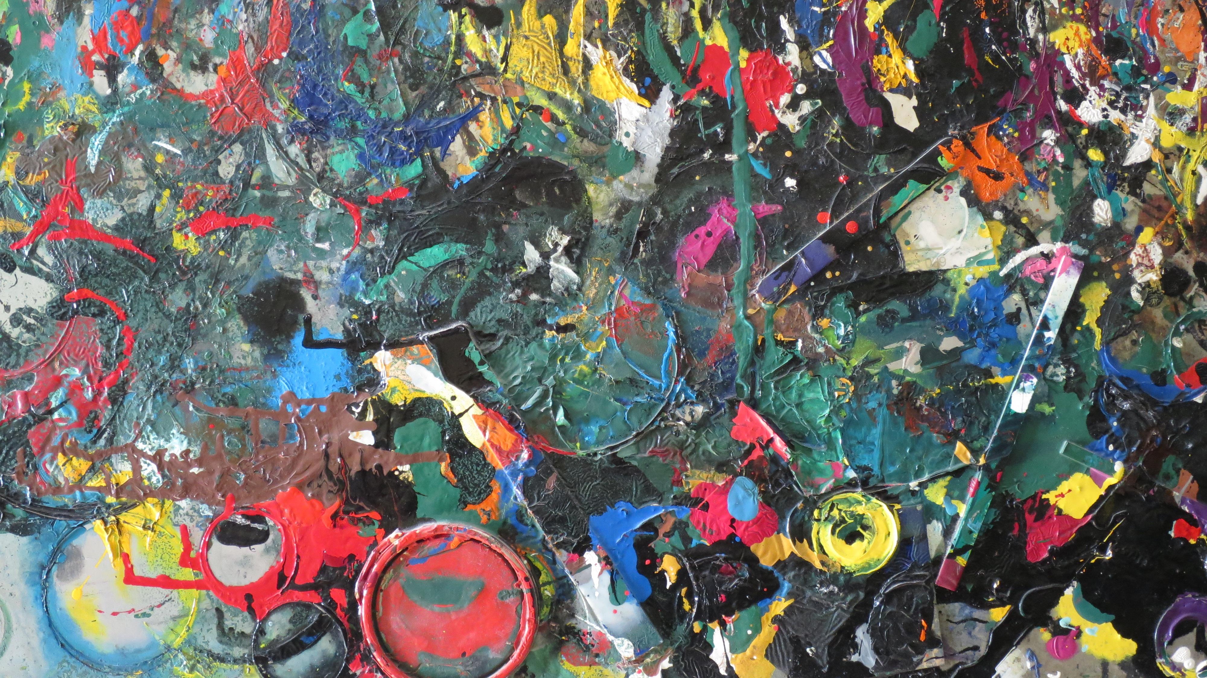 farve maleri kunst collage psykedelisk kunst barnet kunst df0c9872aa2ae