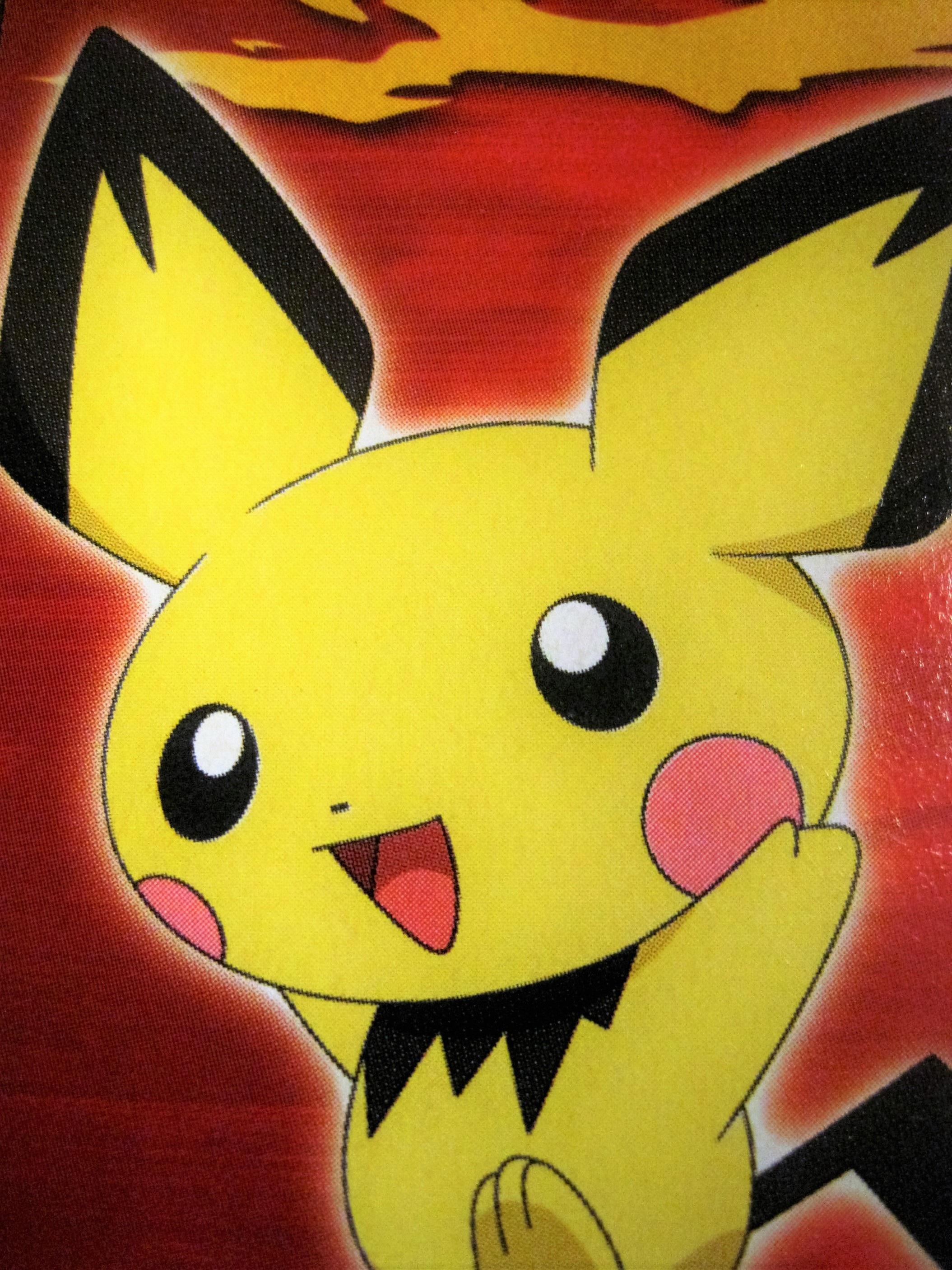 Gambar Warna Kuning Angka Ilustrasi Jepang Pokemon Pergi