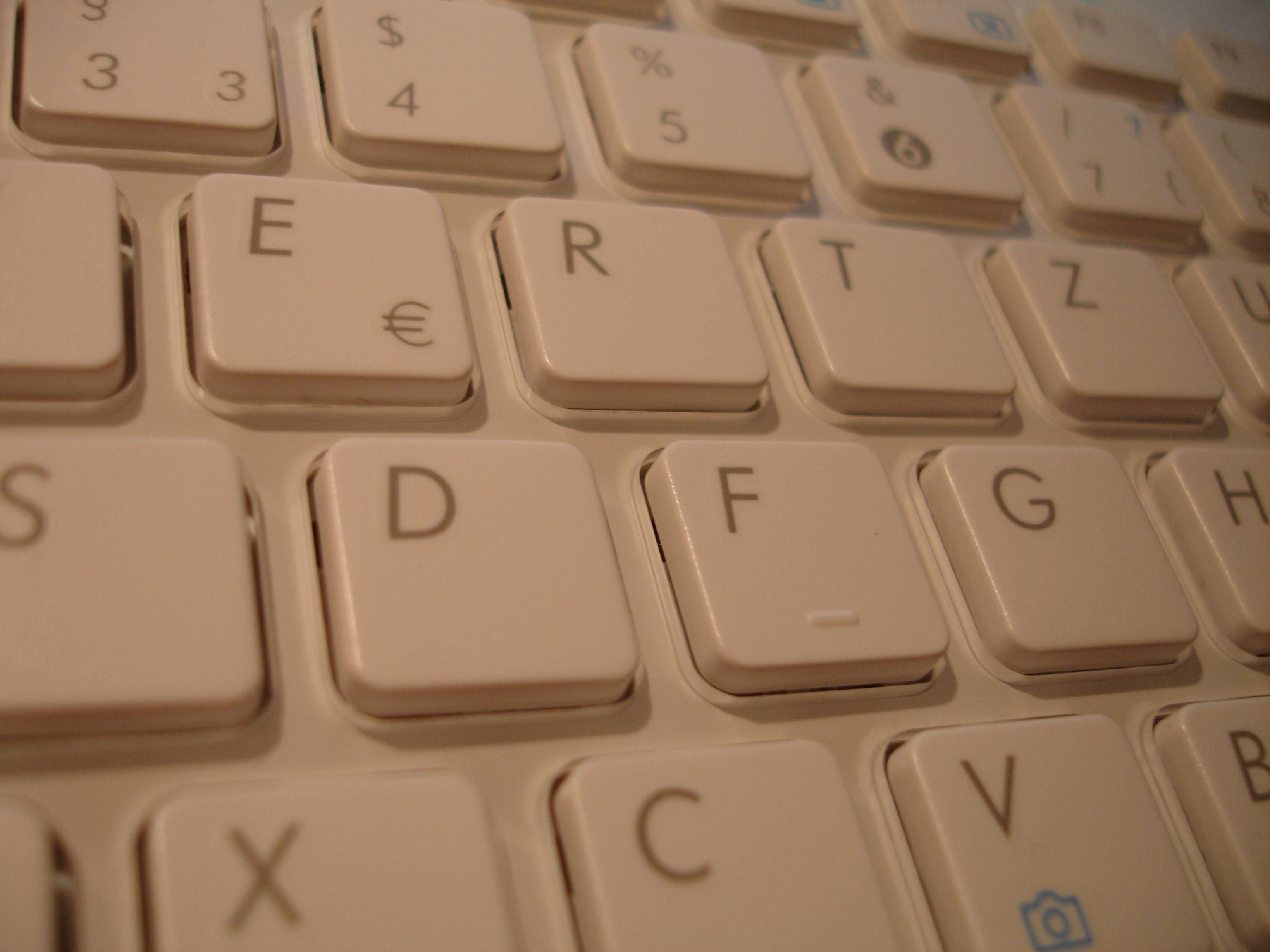фотография клавиатуры крупным планом