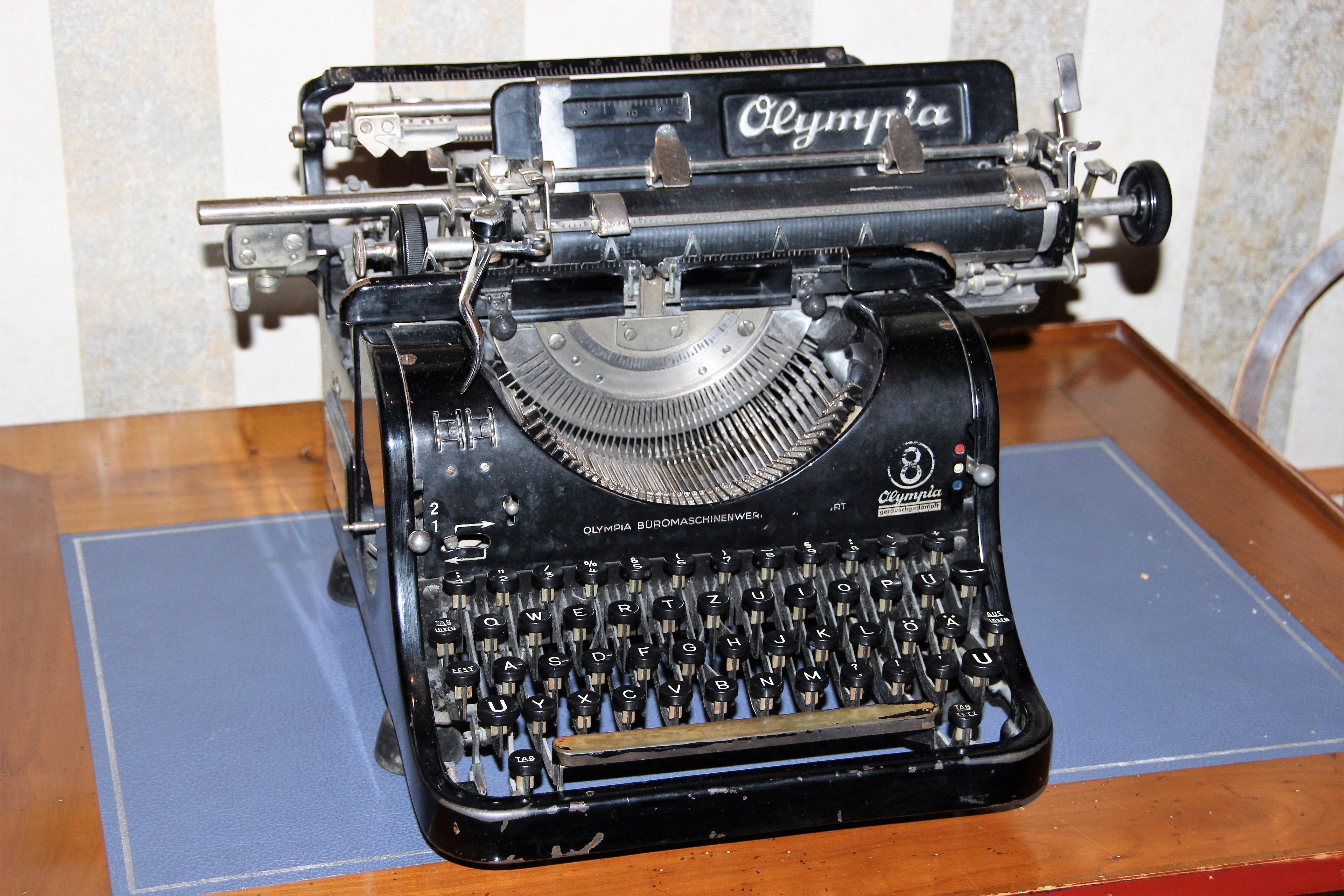 Первые печатные машинки фото