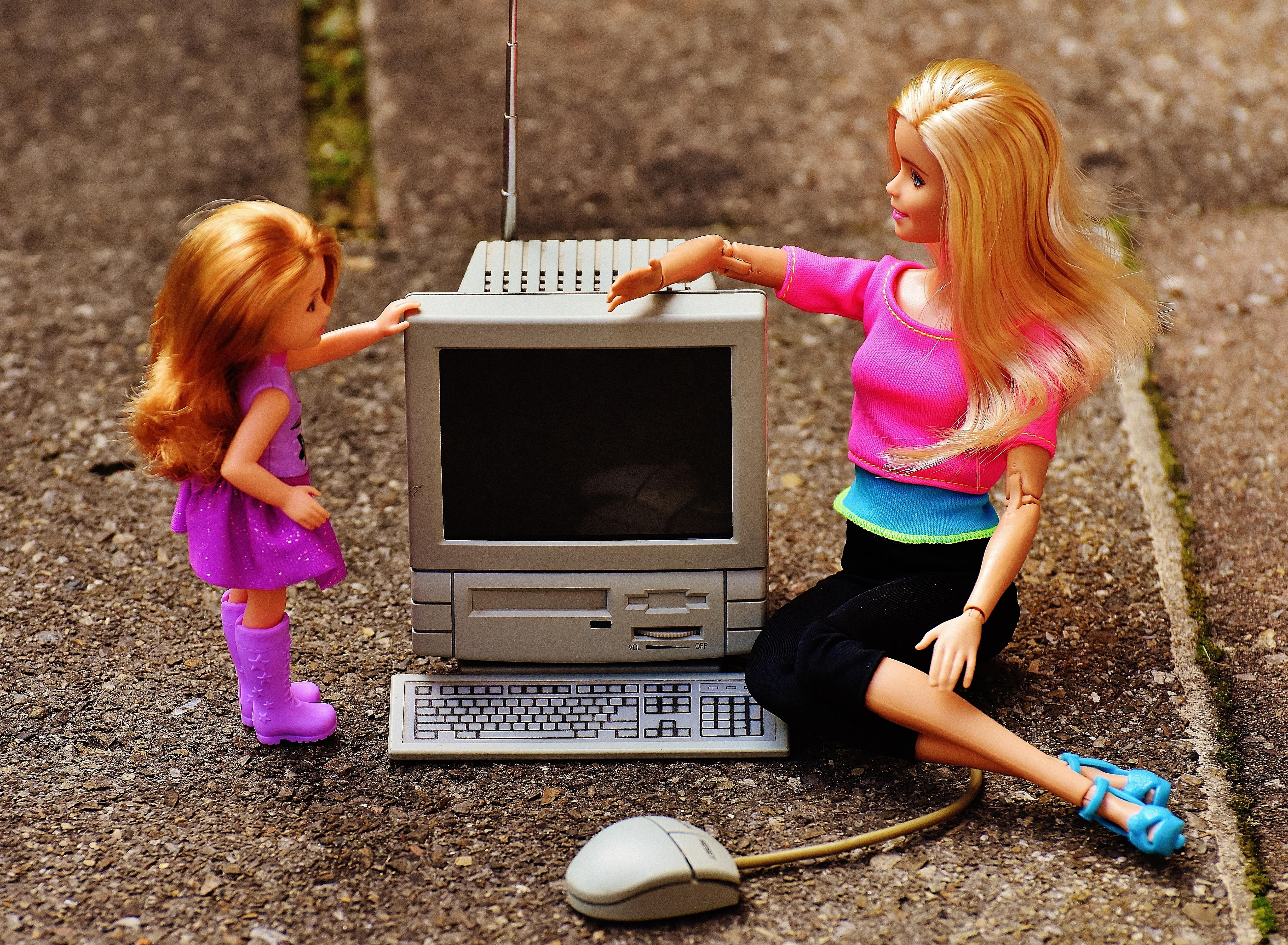 children and computer technology