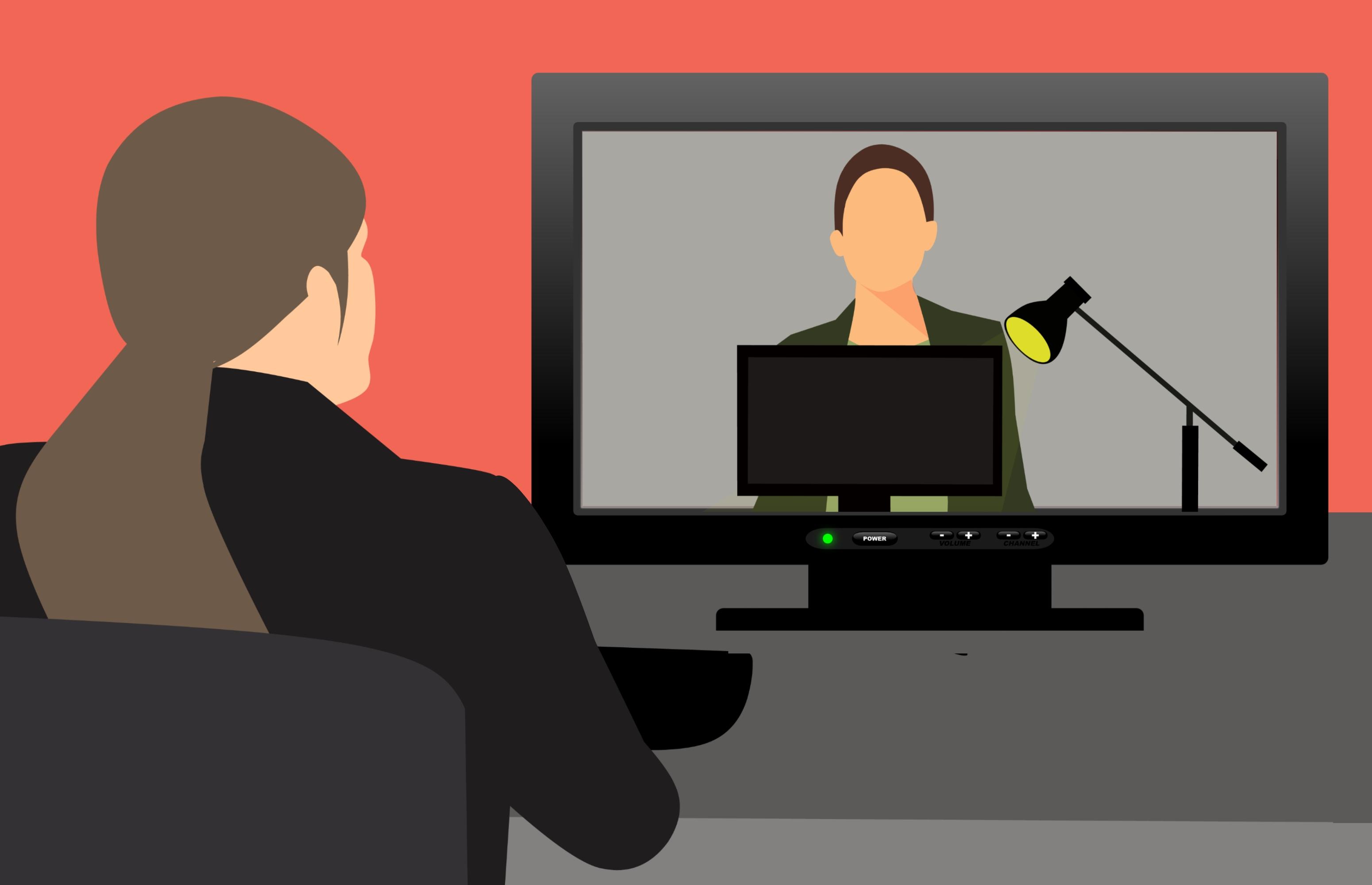Gambar Konferensi Video Jaringan Webinar Bengkel On
