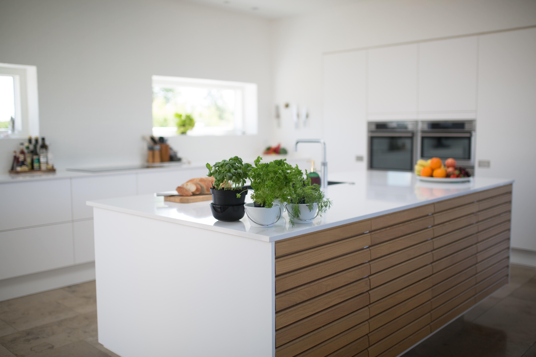 Gambar Melawan Rumah Dalam Ruangan Desain Interior Dapur