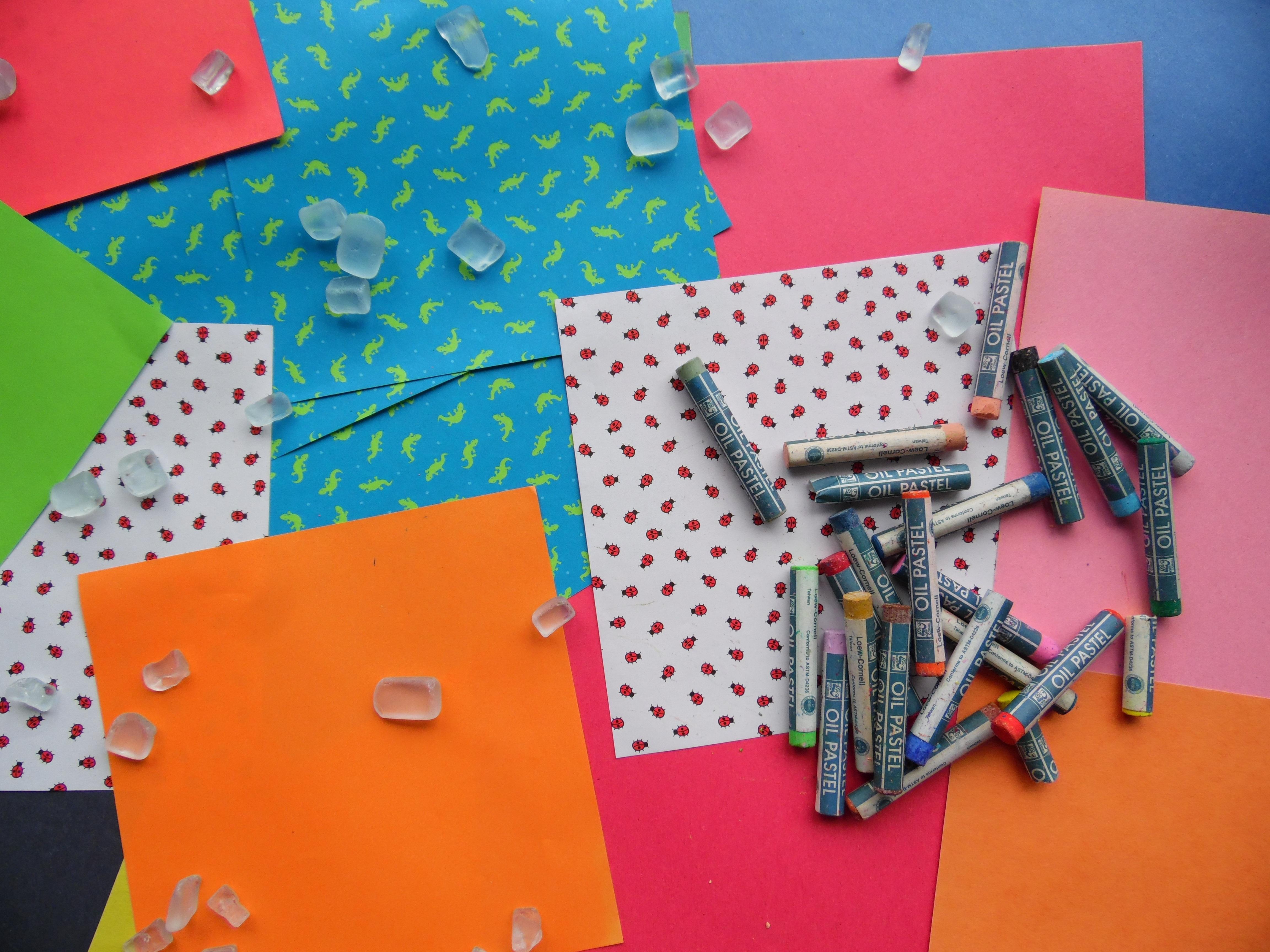 Kreatif Warna Artistik Kerajinan Warni Kertas Bahan Tekstil Seni Gambar Kreativitas Desain Senang Aksesoris
