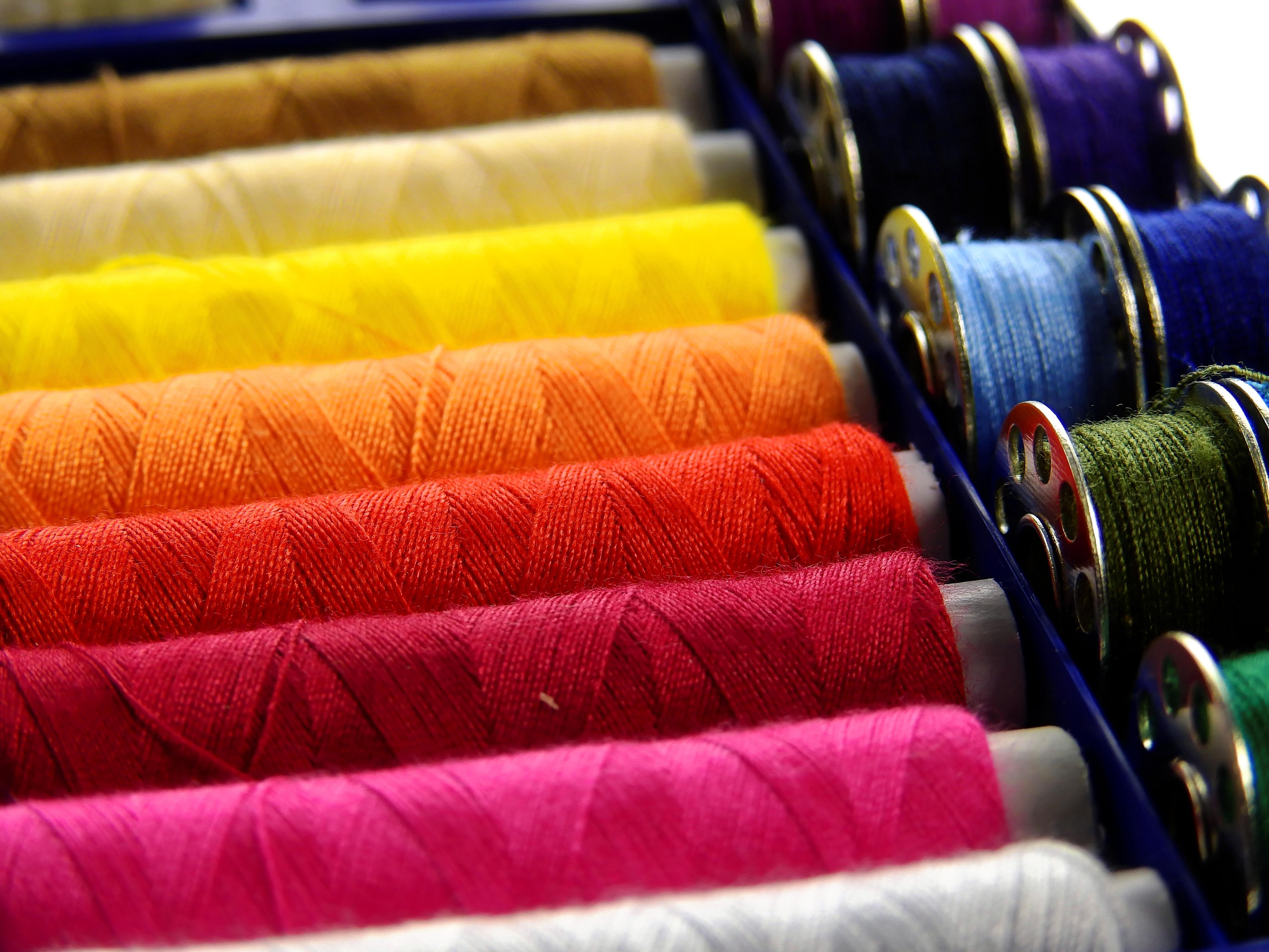 Fotos gratis creativo color moda arte vistoso for Fil de couture