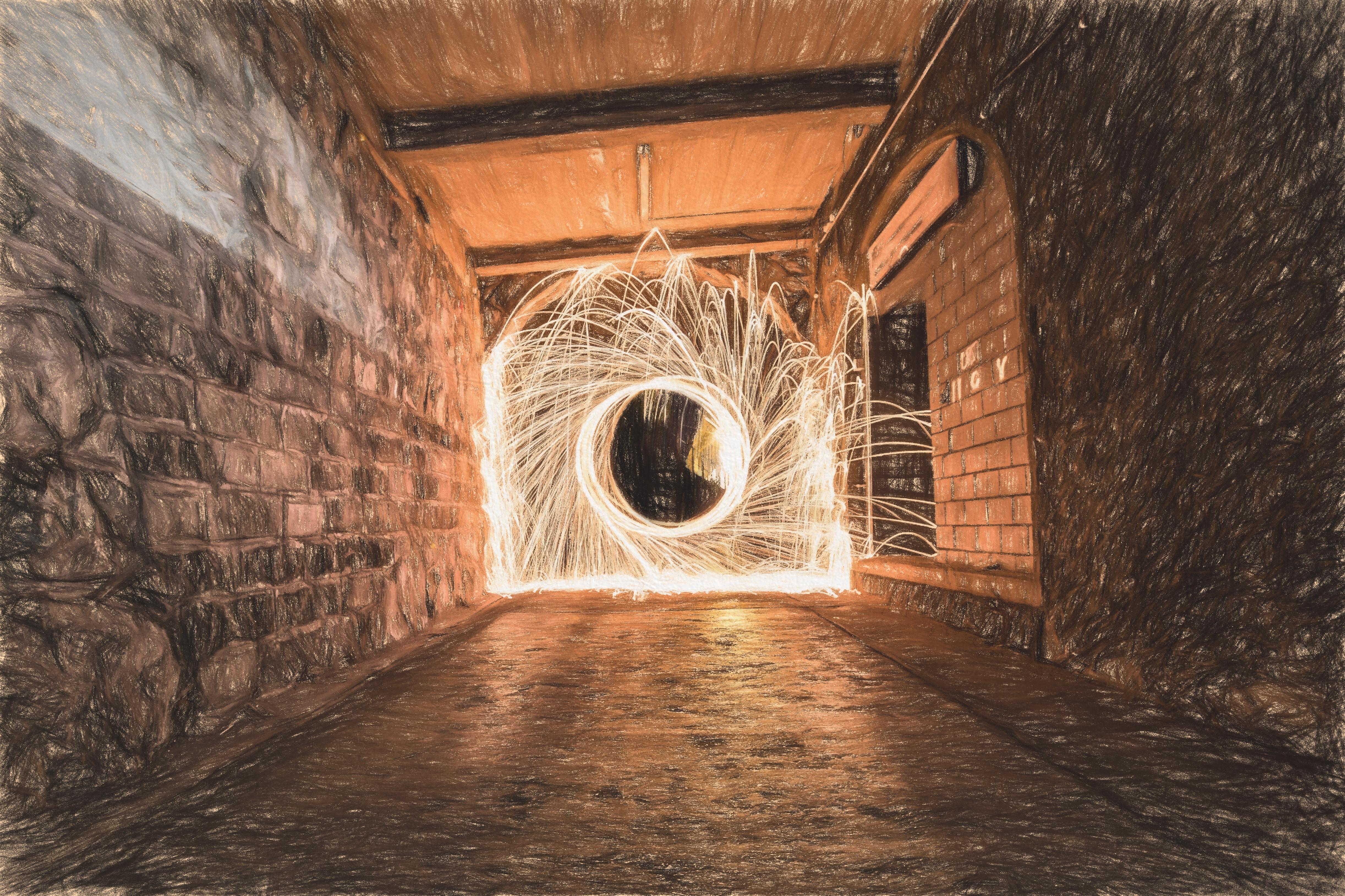 Holz Stehlen kostenlose foto kreativ licht holz mauer tunnel stehlen