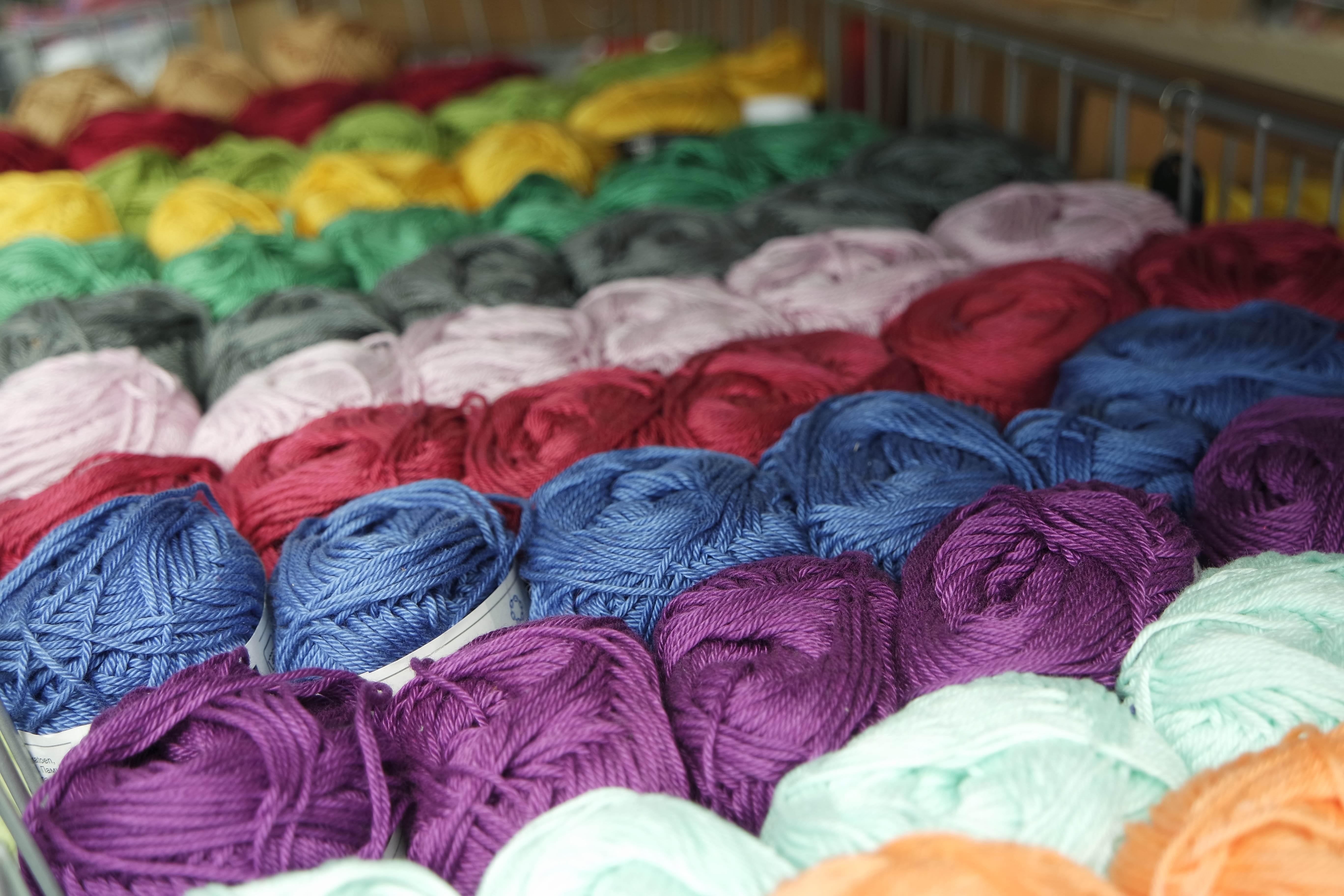 Free Images : creative, needle, purple, orange, green ...