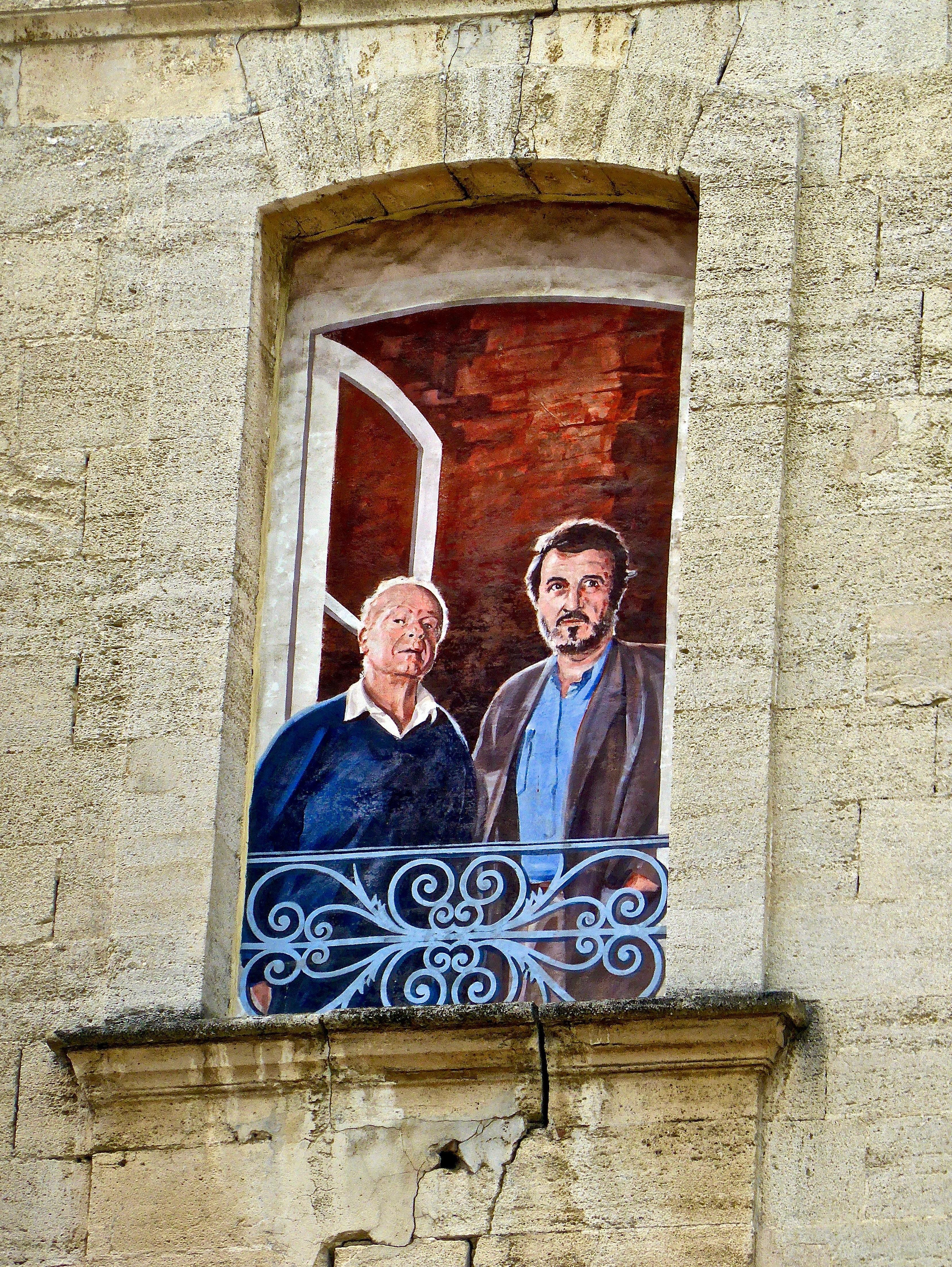 Fotoğraf Yaratıcı Yol Sokak Pencere Duvar Dış Boyama Sanat