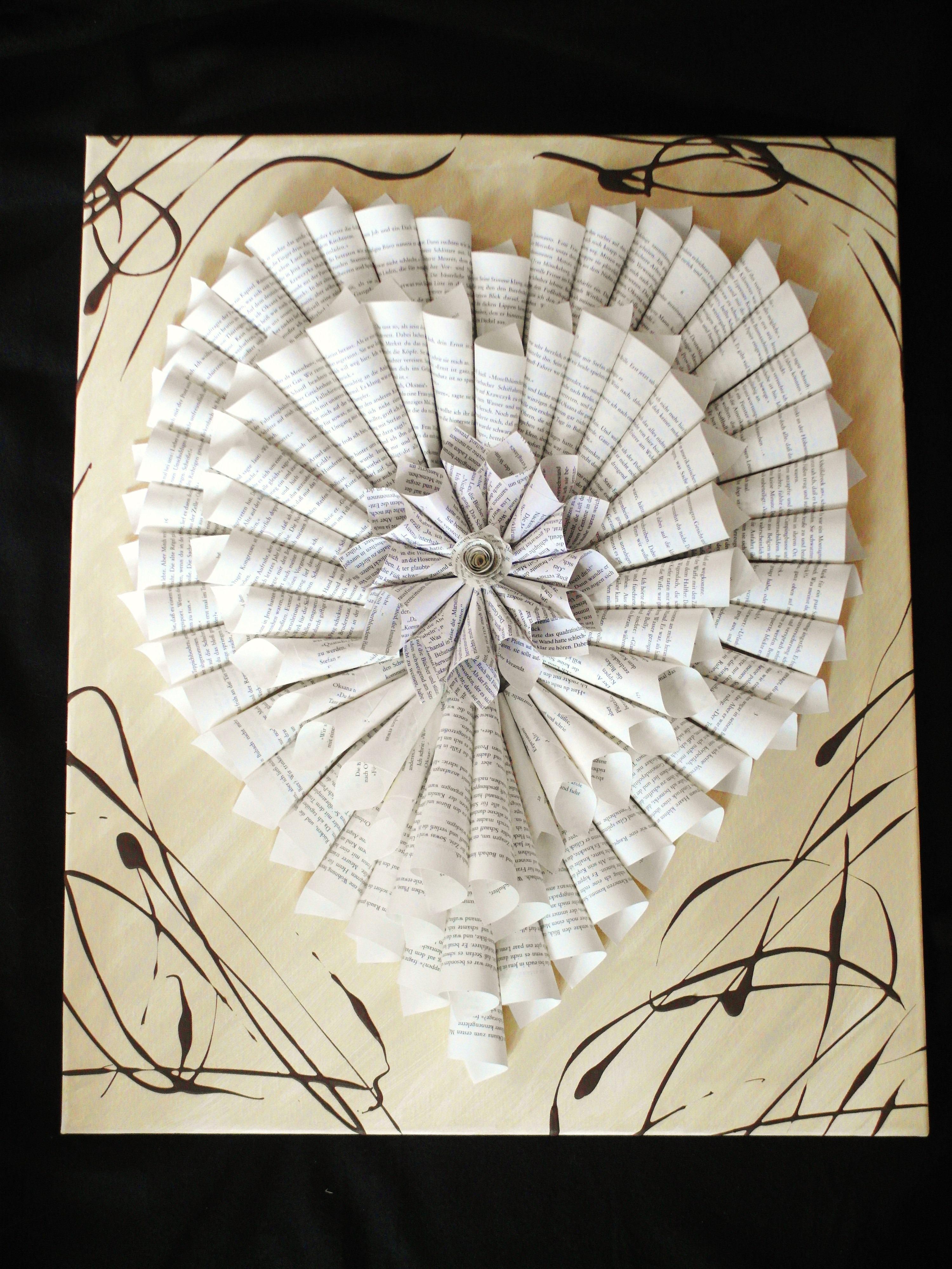 Gambar Kreatif Spiral Jendela Kaca Cinta Jantung