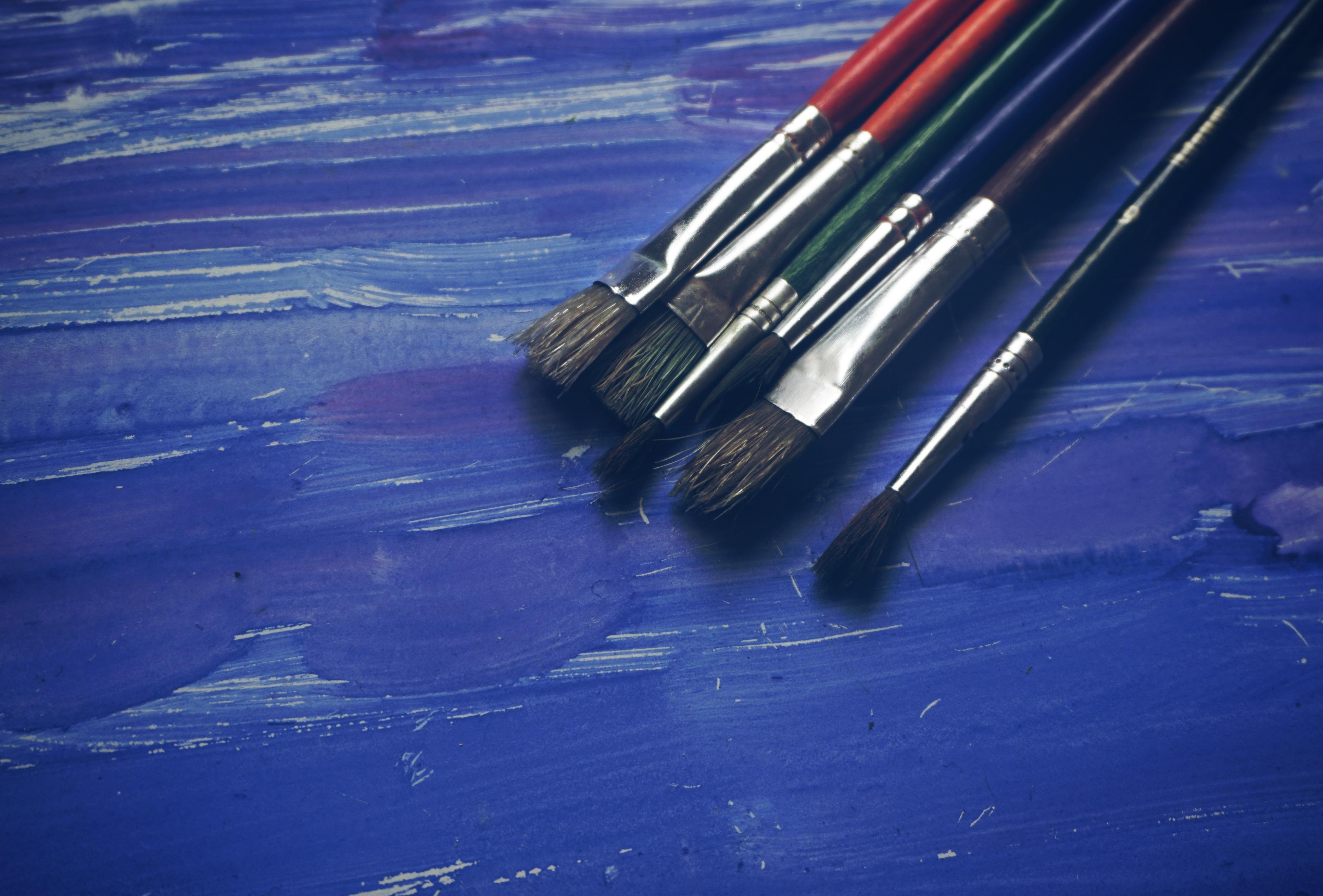 High Resolution Brush Paint