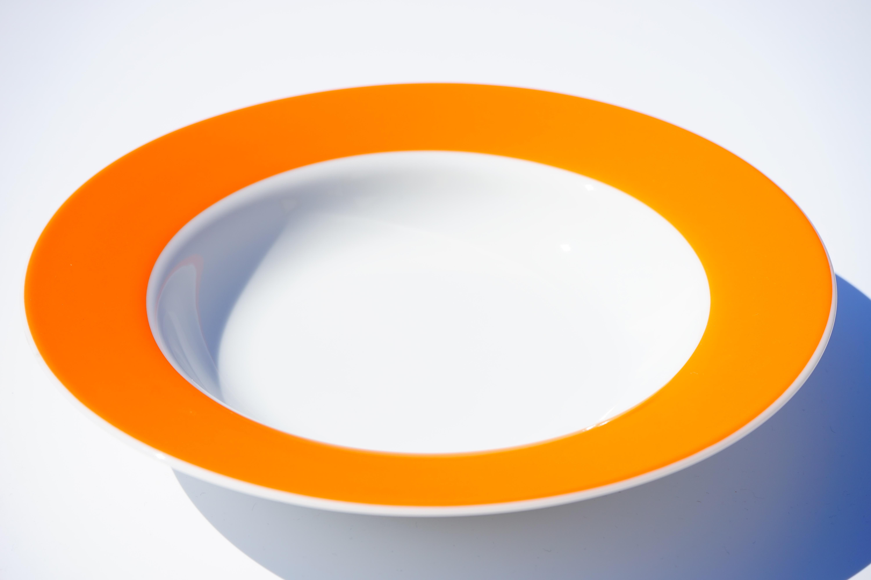 images gratuites coupe orange couleur assiette color vaisselle cercle produit. Black Bedroom Furniture Sets. Home Design Ideas