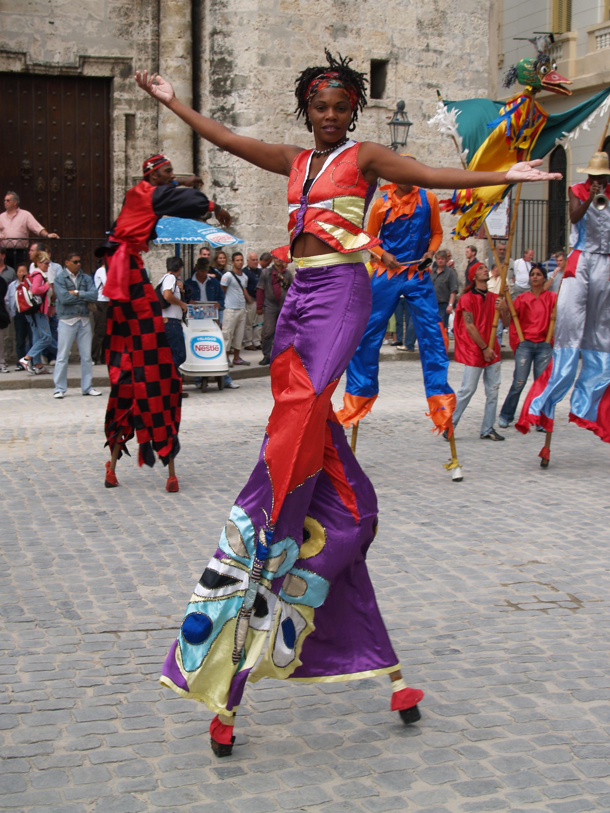 кубинский карнавал фото платок можно