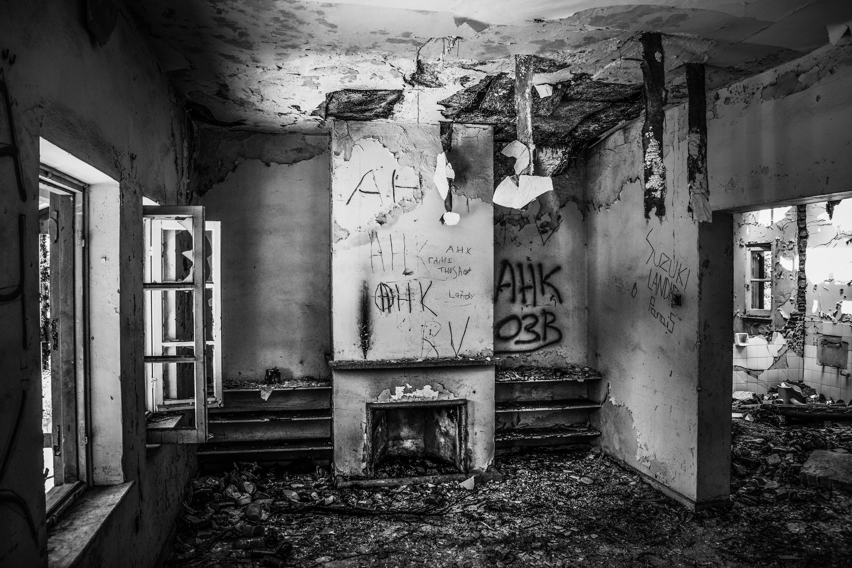 Kostenlose Foto Zerfallen Haus Verlassen Gebrochen