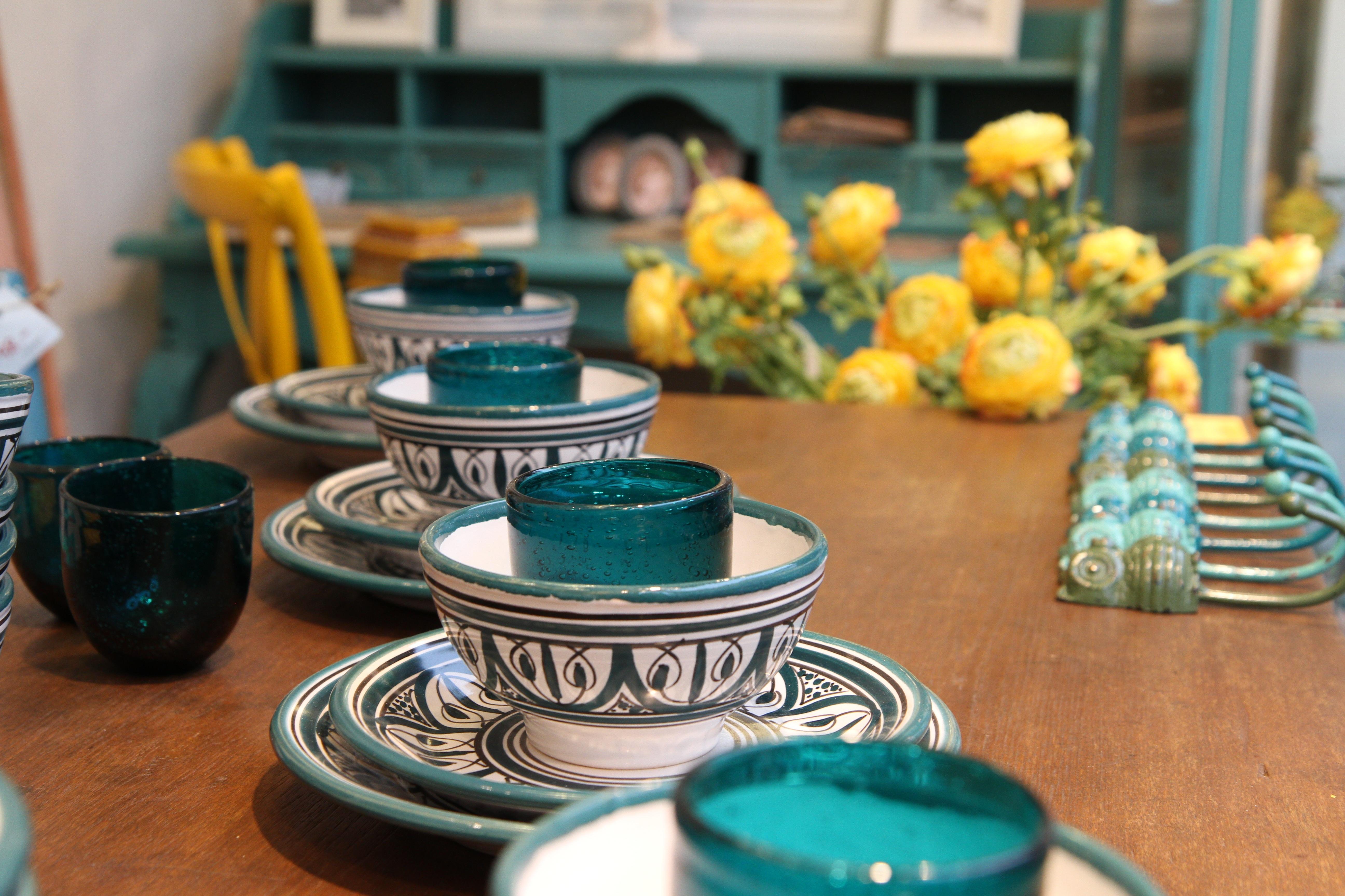decoration bowl green color ceramic blue lifestyle flowers interior design living art yellow flowers & Free Images : decoration bowl green color ceramic blue ...