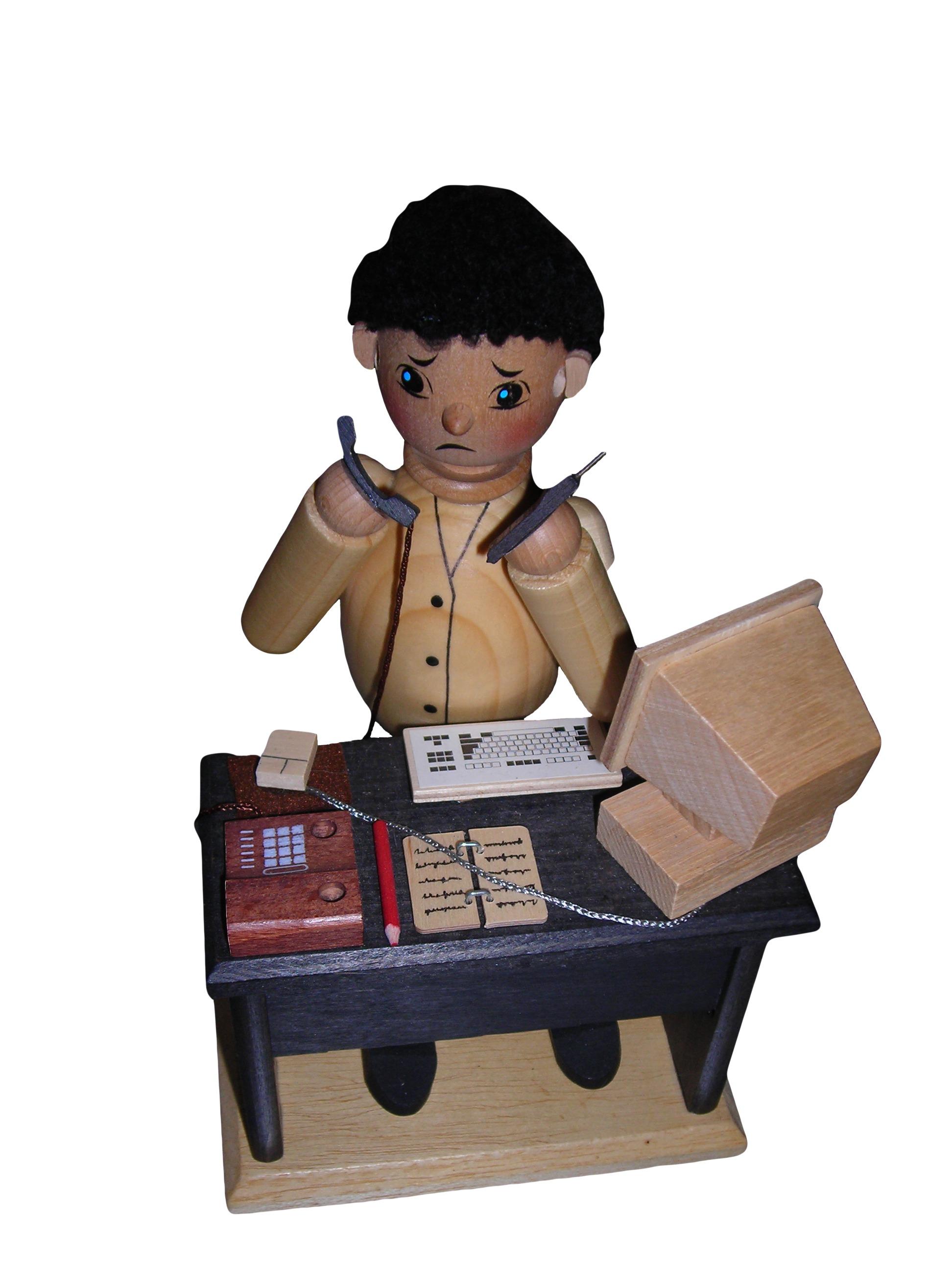 Gambar Meja Tulis Komputer Bermain Terpencil Telepon Mainan Koleksi Anak Seni Angka Ilustrasi Arca Action Figure Kartun Mendukung