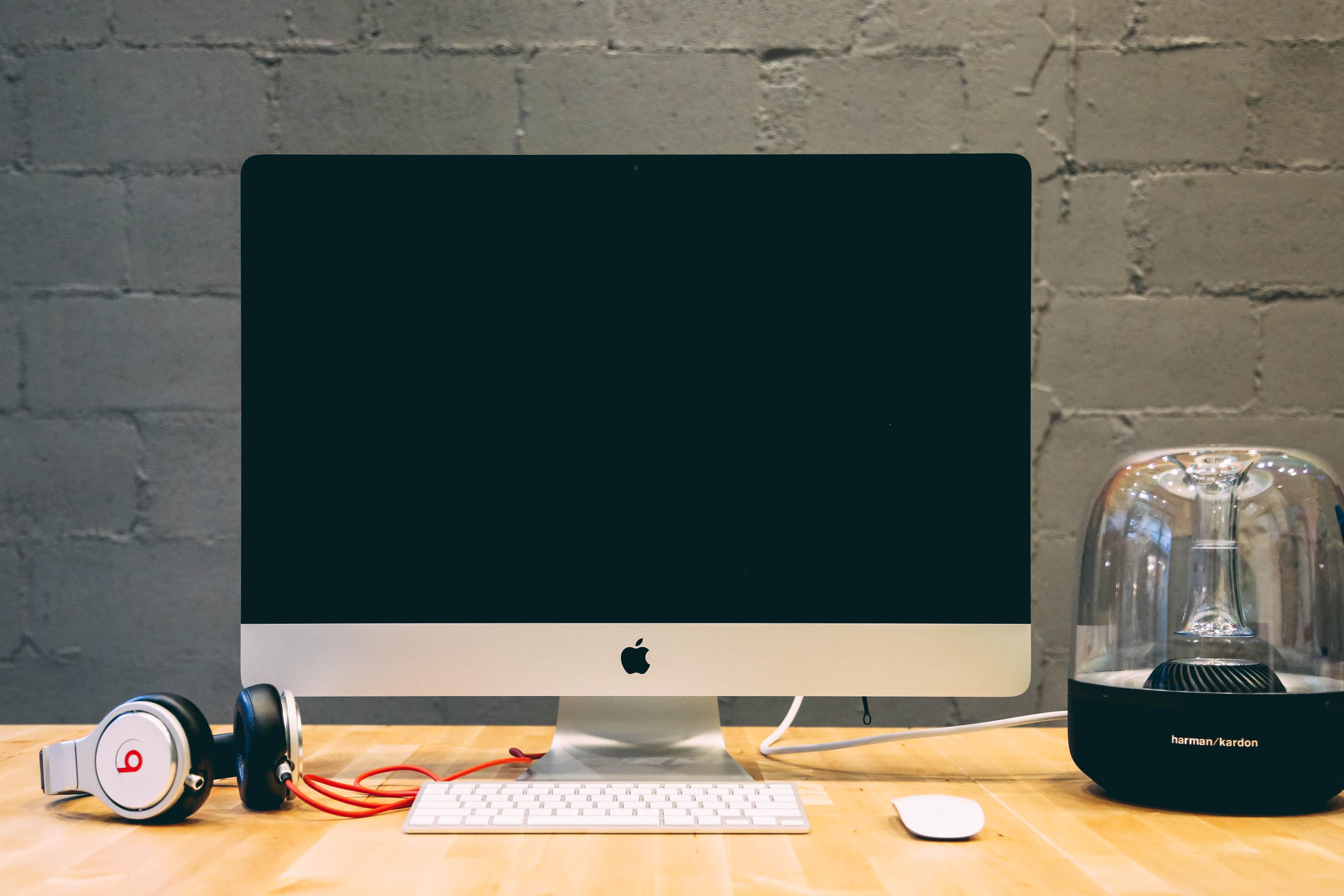 Images gratuites bureau ordinateur écran table clavier la