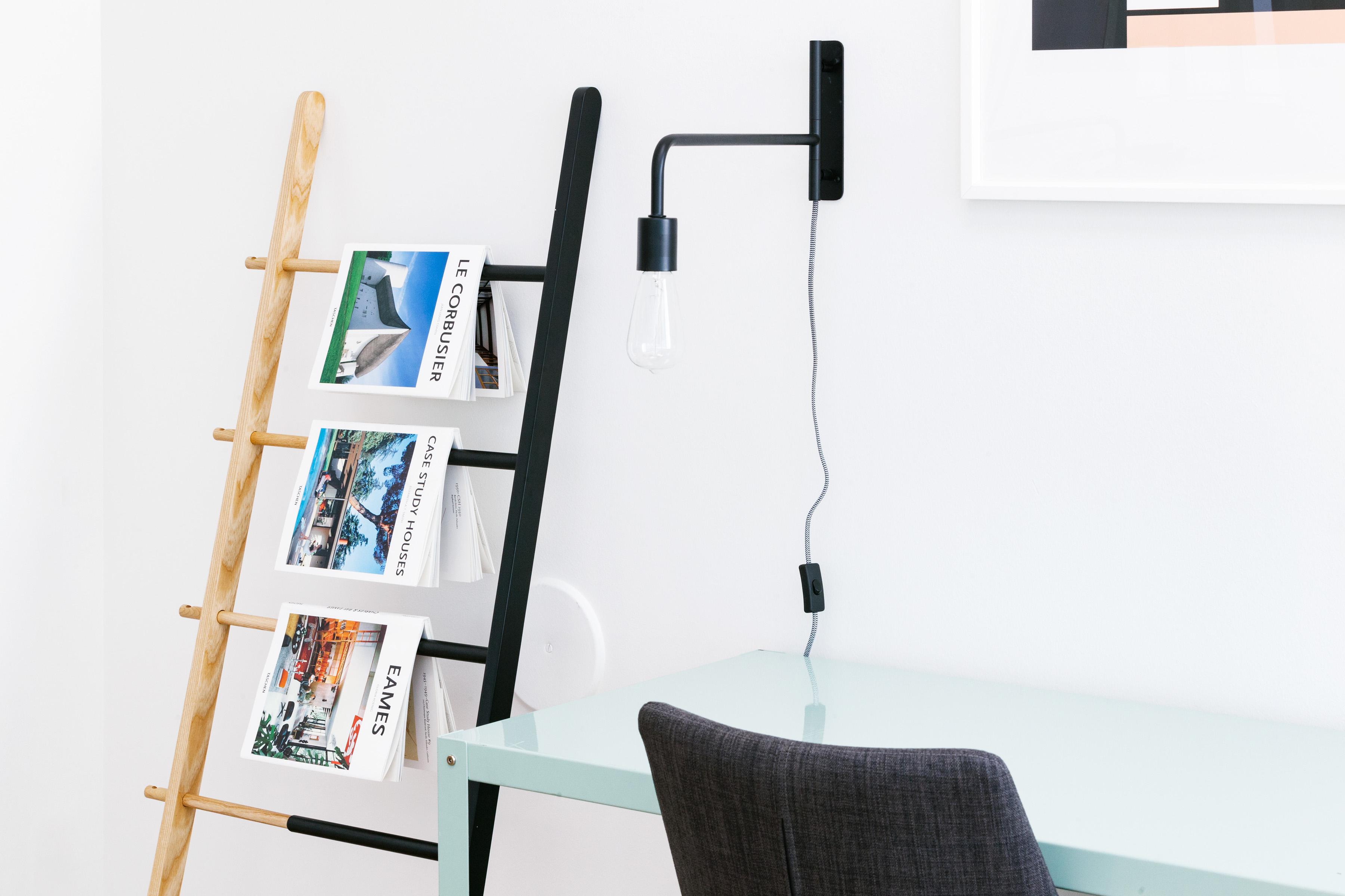 Moderne Bildet : pulten, bord, stol, interiør, vegg, hylle, møbler, rom CQ-05