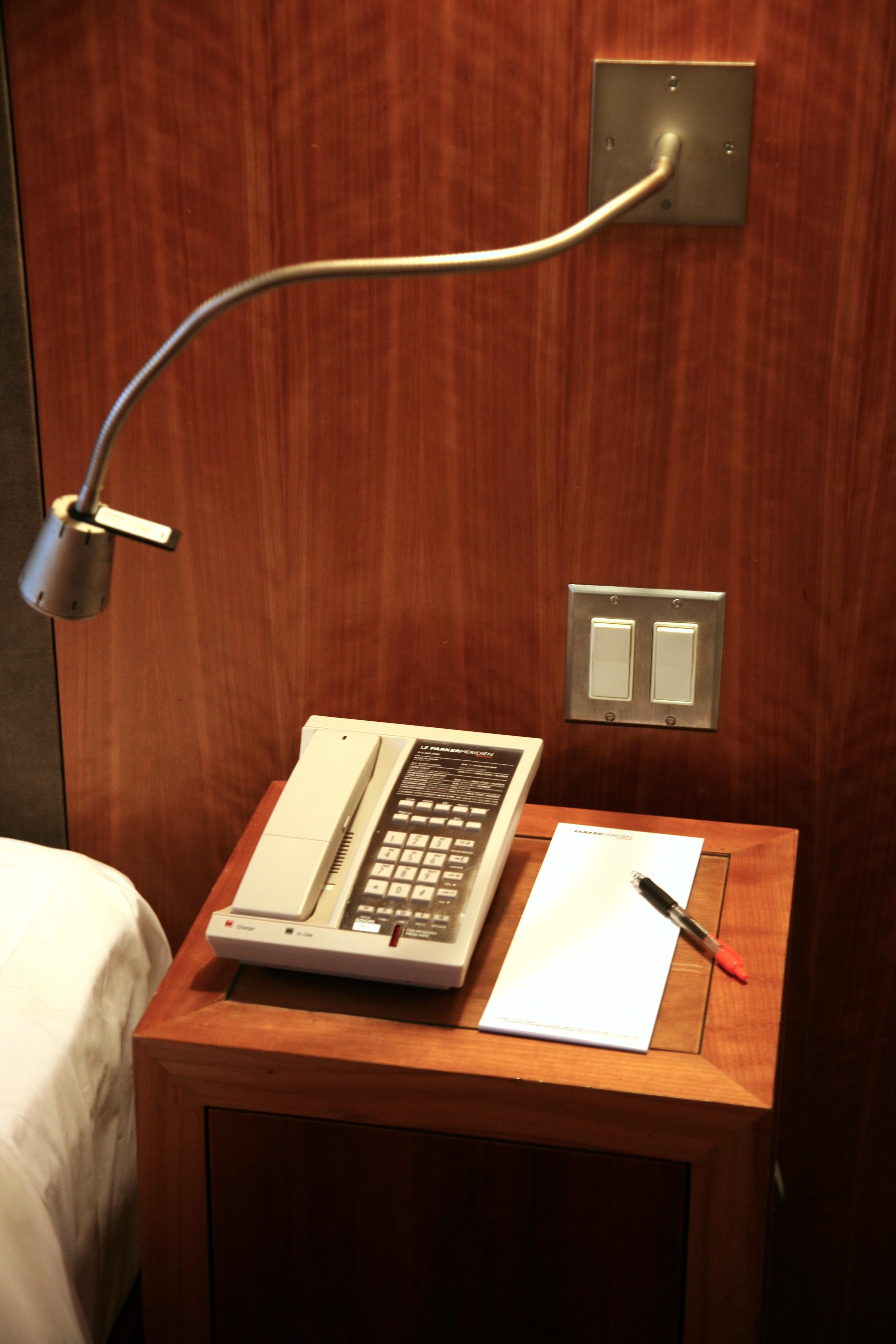 Free desk table light wood house nyc phone