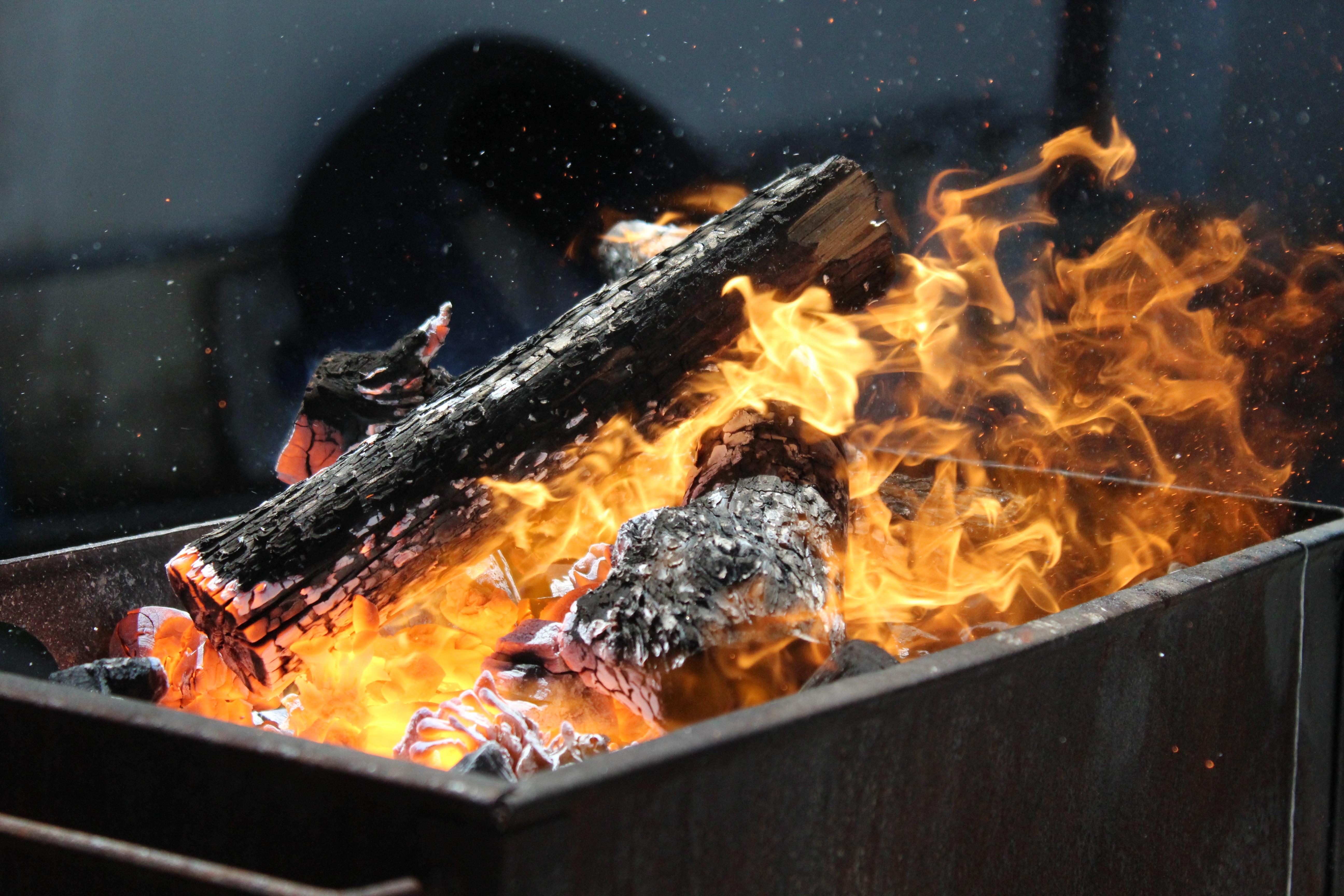 Fotos gratis plato comida cocina llama fuego hoguera carne parilla ba ador hogar - Cocina de fuego ...