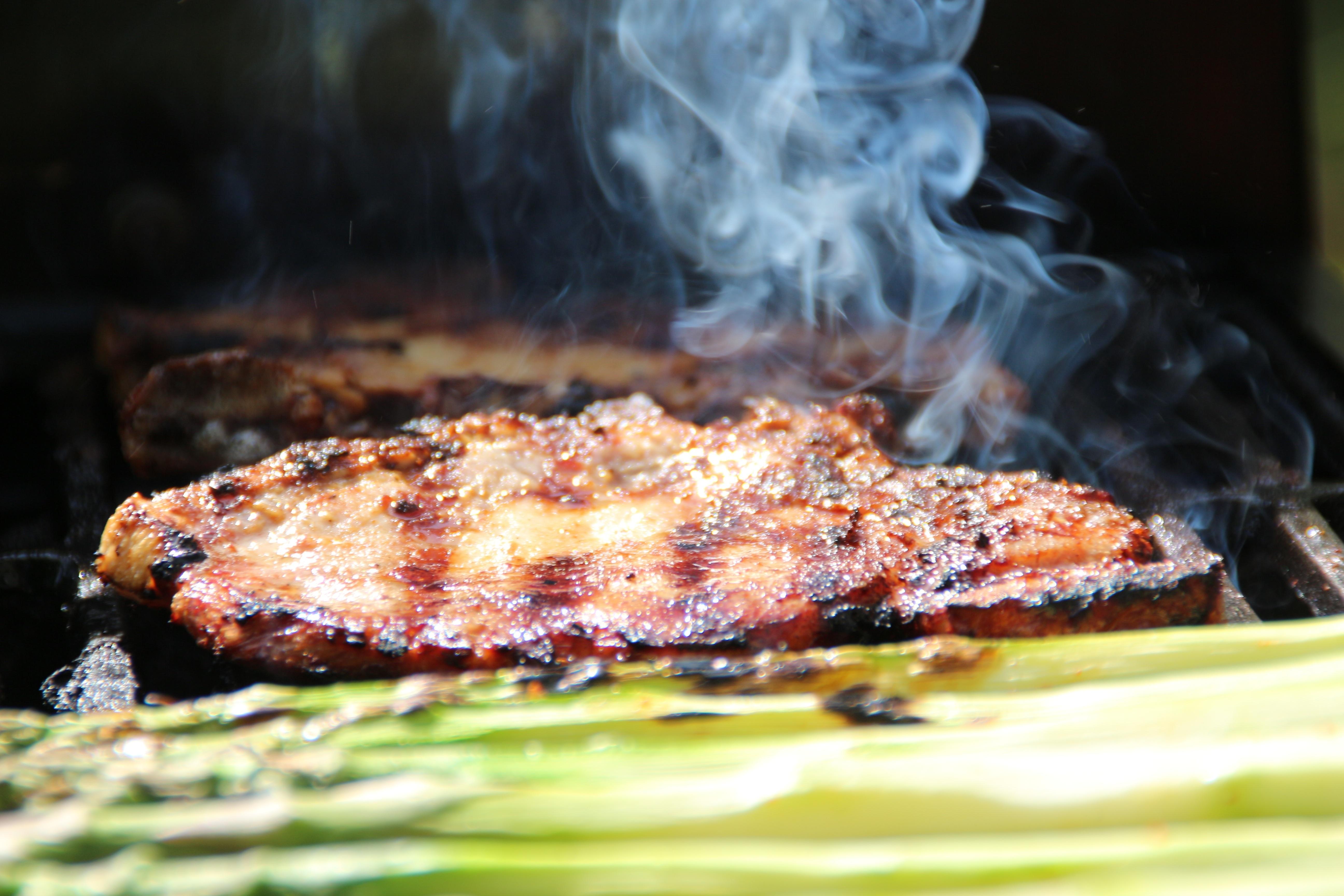 kostenlose foto gericht kochen produzieren fisch grill k che steak braten steaks. Black Bedroom Furniture Sets. Home Design Ideas