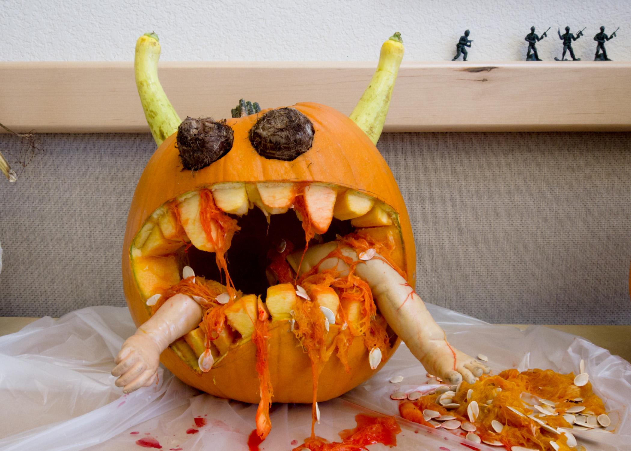 блюда на хэллоуин в картинках особенность заключается