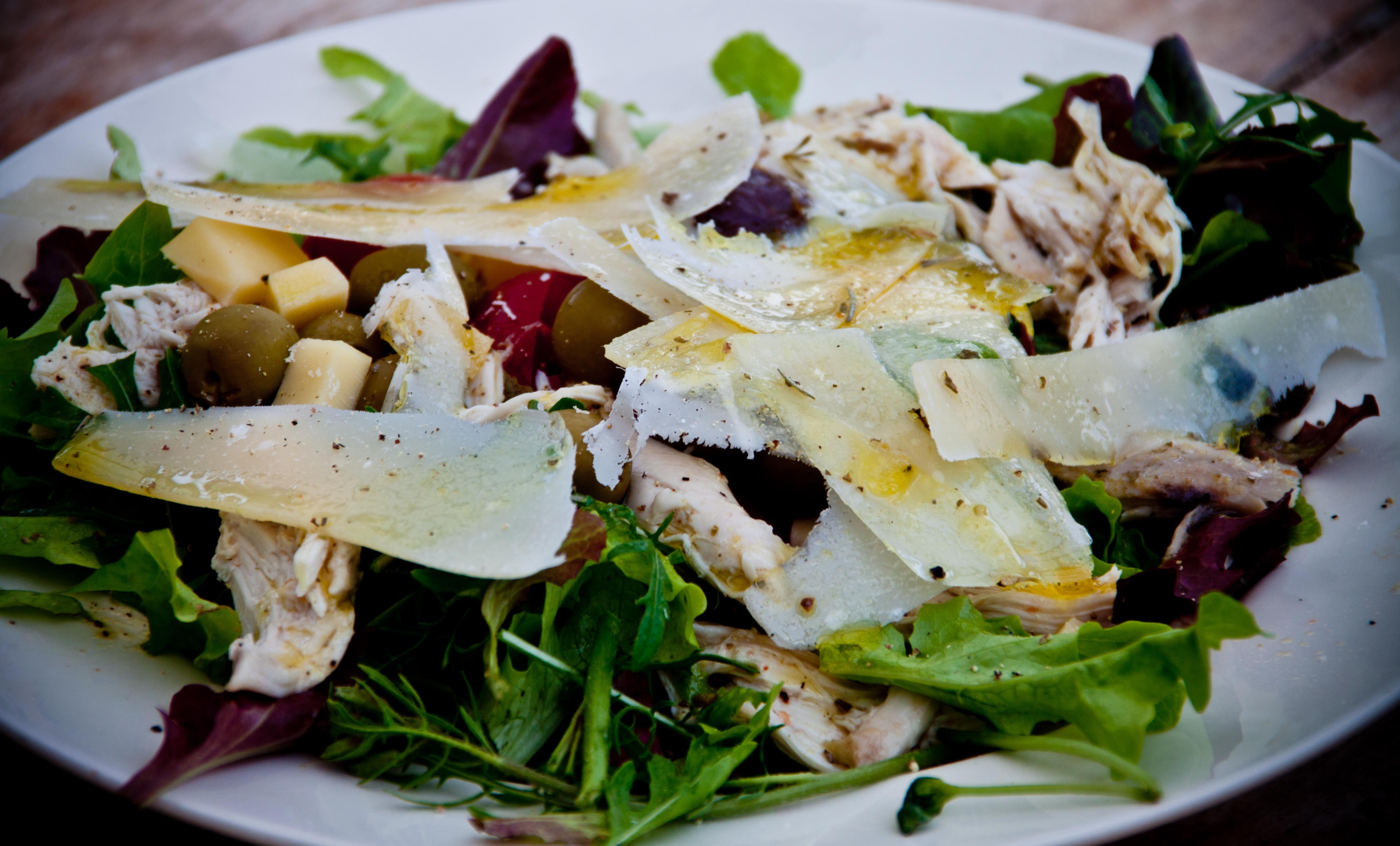 Fotoğraf Tabak Gıda Salata üretmek Sebze Mutfak Sezar