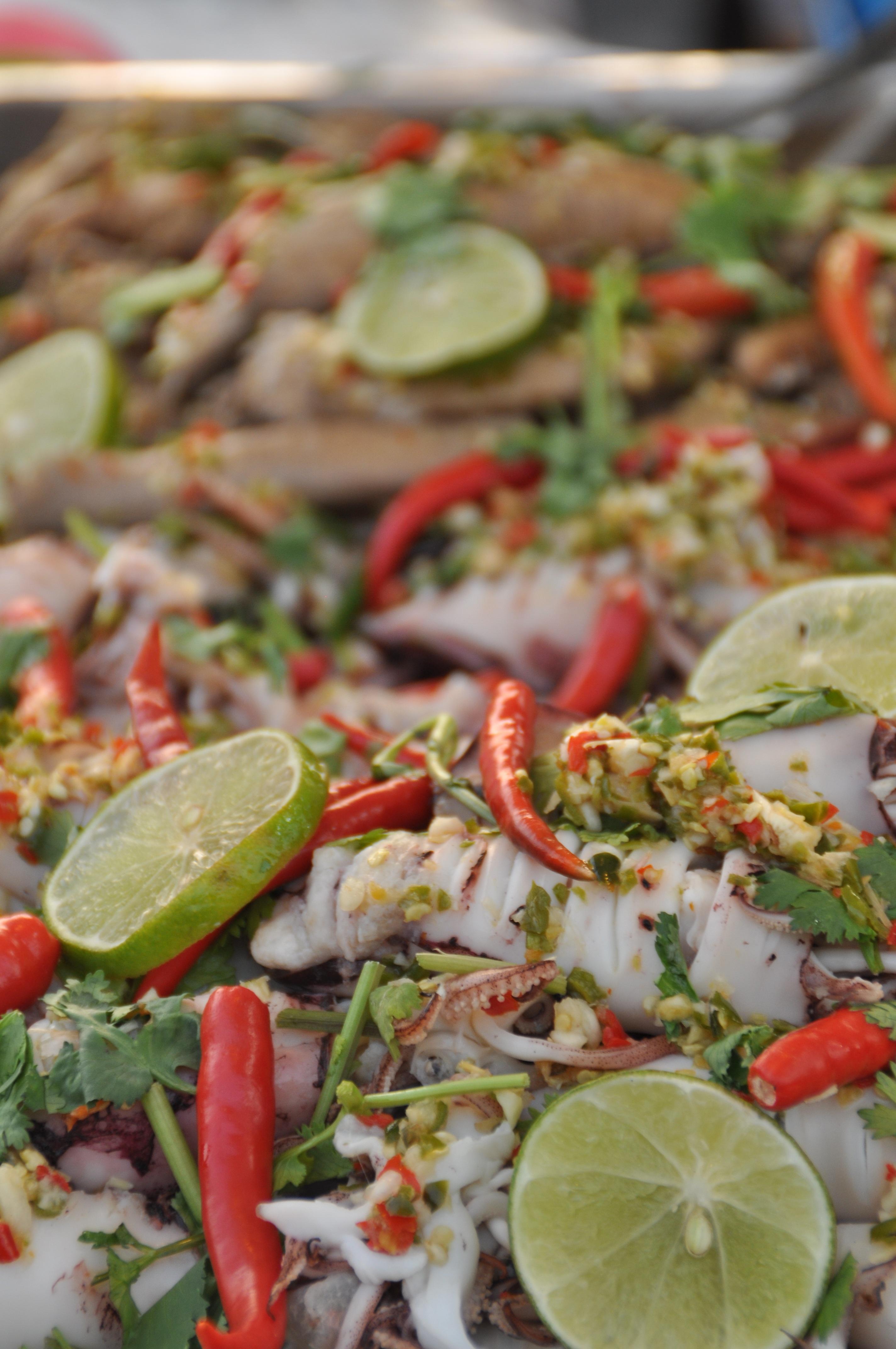 Free Images Dish Salad Produce Vegetable Fish Cuisine Delicious Thailand Street Food Eat Thai Thai Kitchen 2848x4288 566672 Free Stock Photos Pxhere