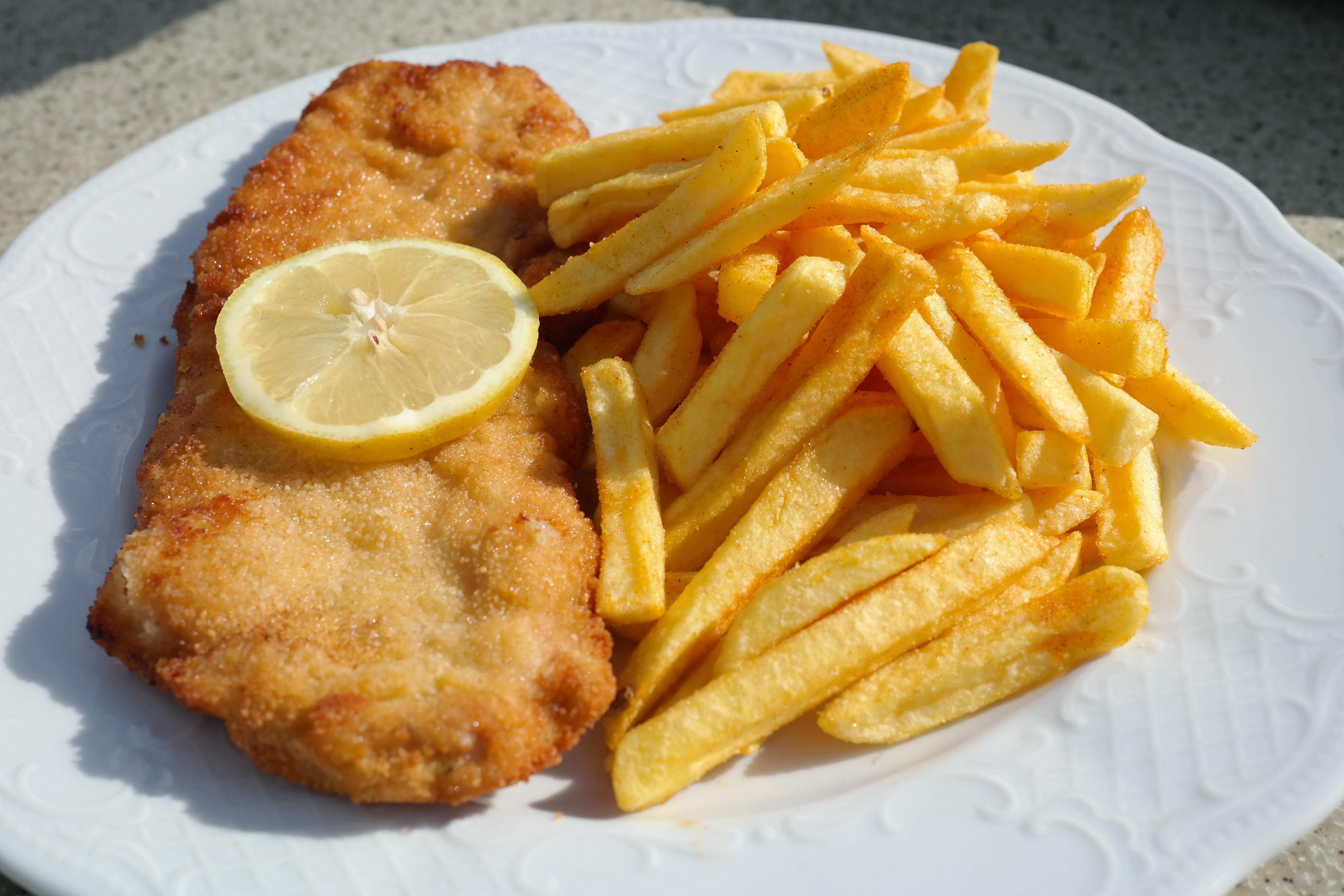 Gambar Hidangan Menghasilkan Piring Makanan Laut Sarapan