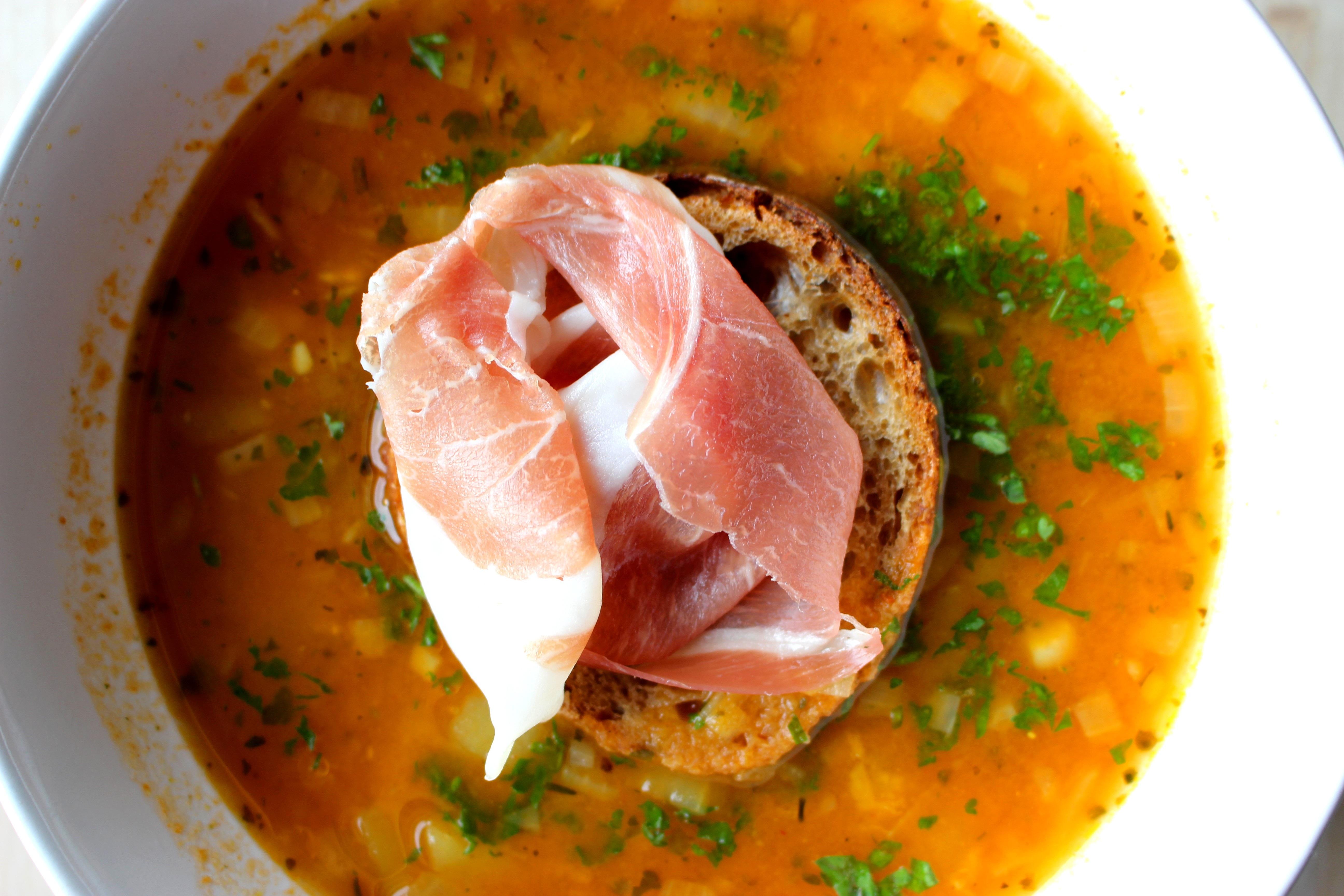 Суп на говяжьем бульоне рецепт с фото