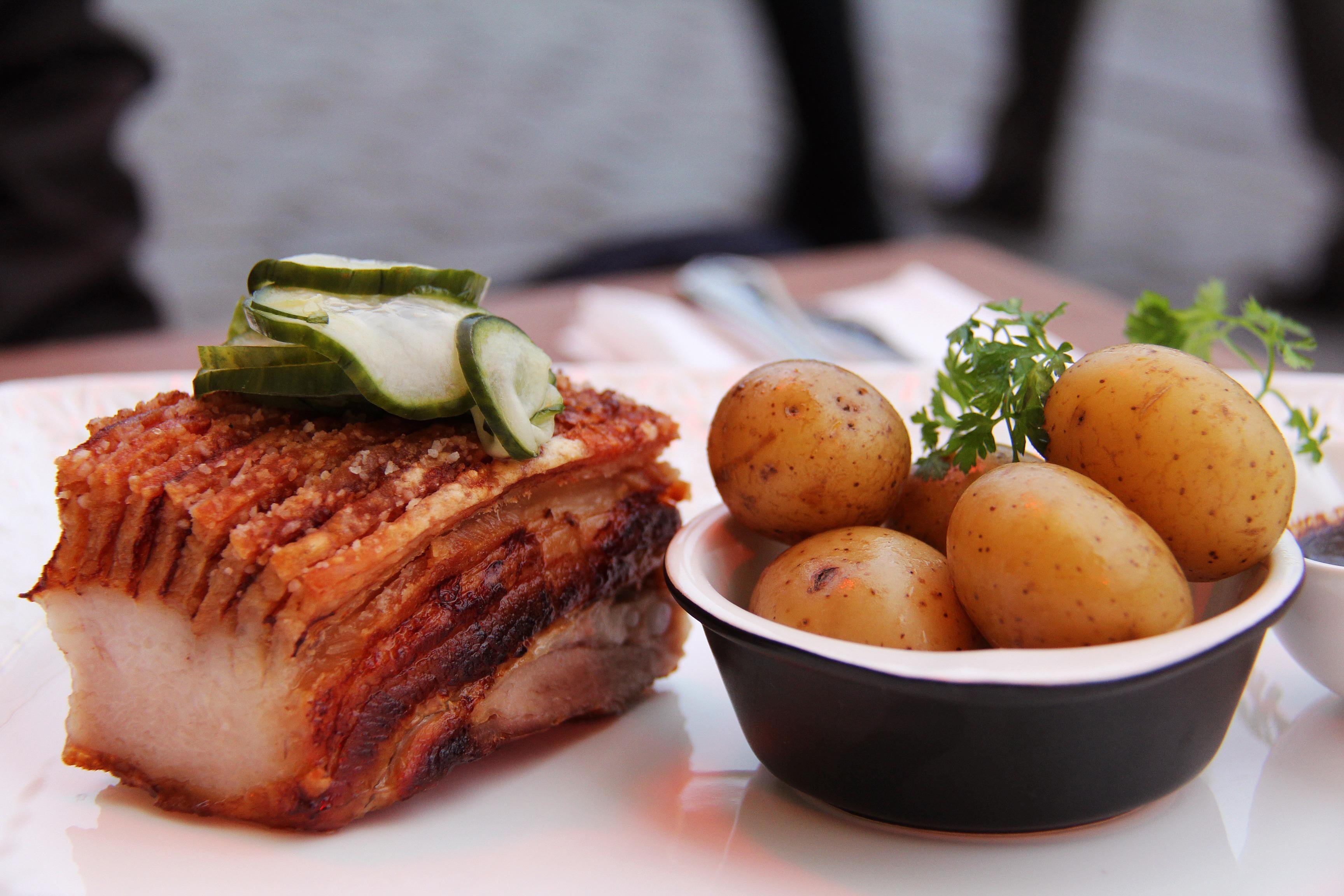 Top Gratis billeder : fad, måltid, mad, fremstille, grøntsag, kød PJ19
