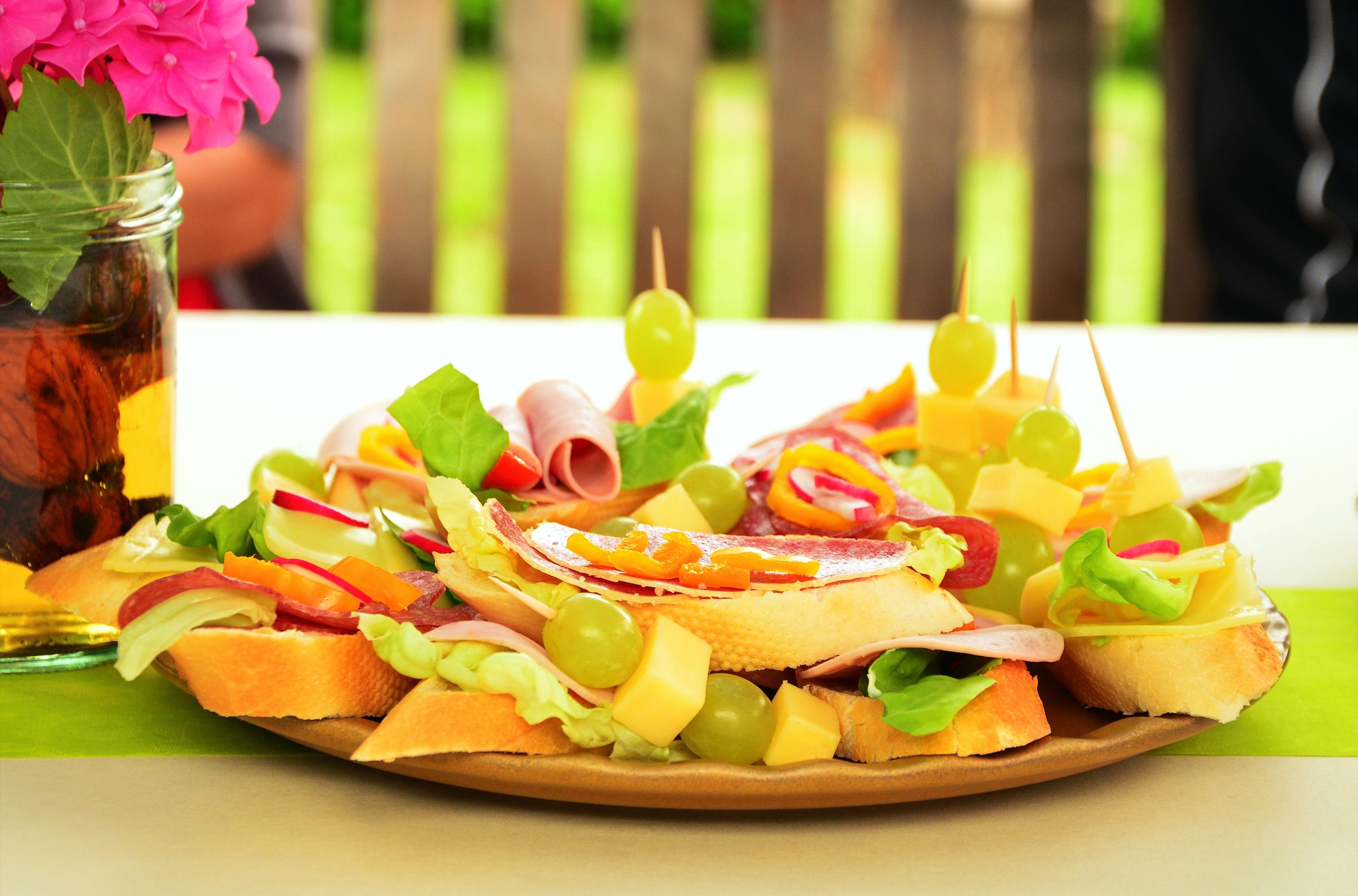 Kostenlose Foto Gericht Mahlzeit Lebensmittel Salat