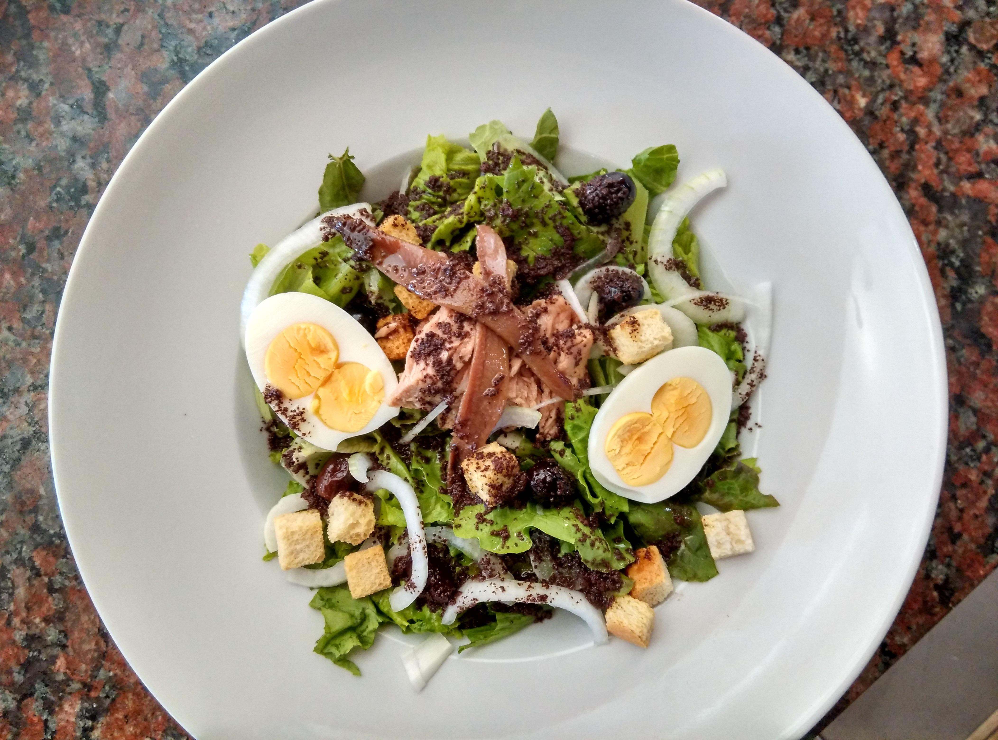 images gratuites plat repas aliments salade produire l gume assiette frais poisson en. Black Bedroom Furniture Sets. Home Design Ideas
