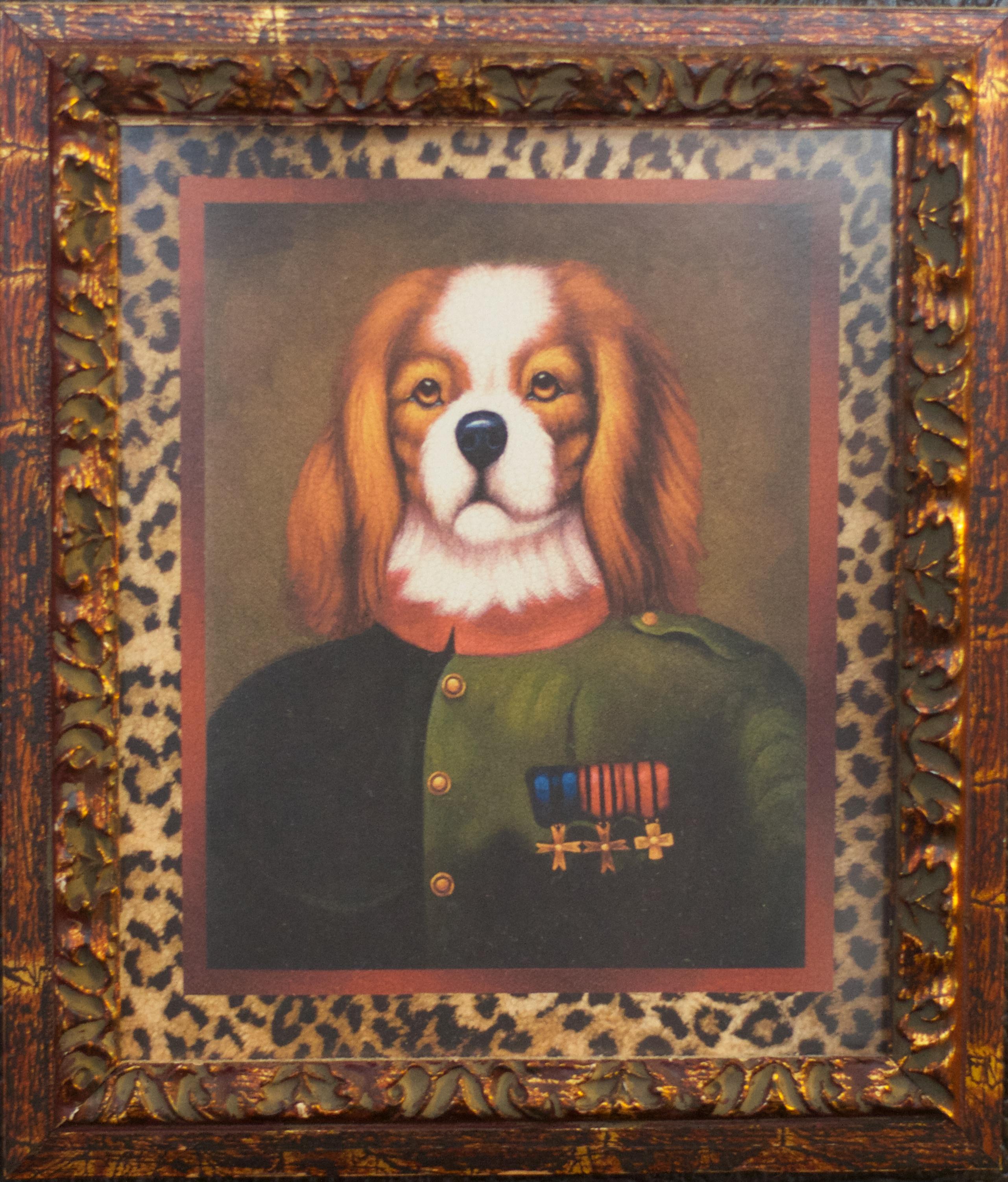 Kostenlose foto : Hund, Malerei, Textil-, Bilderrahmen, Tapisserie ...