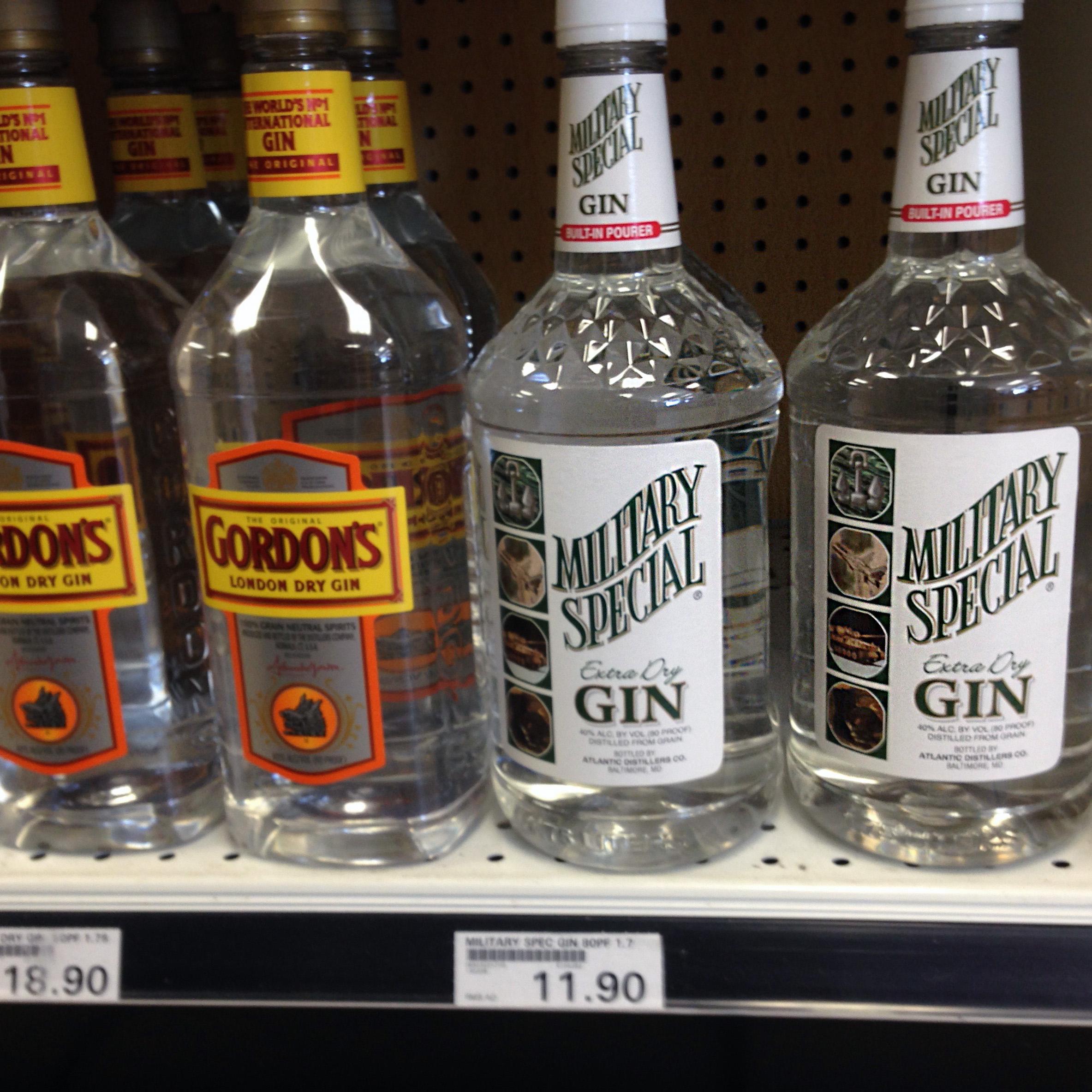 джин обзор алкоголь