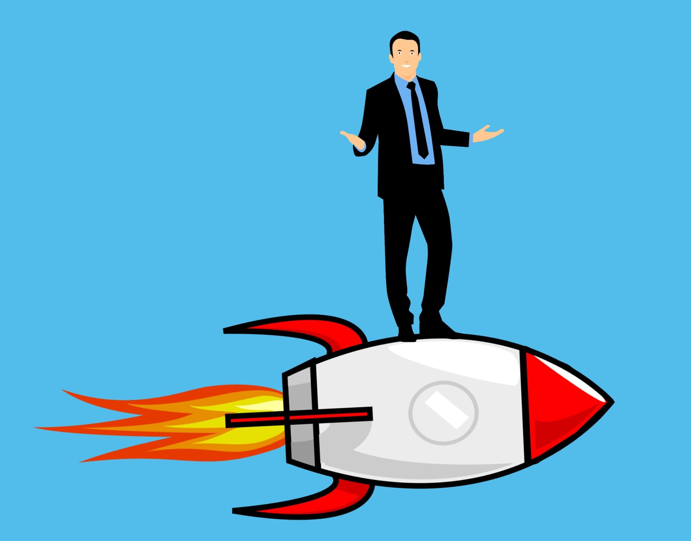 Free Images : entrepreneur, business, rocket, start up, career ladder, rise, social, top, abyss ...